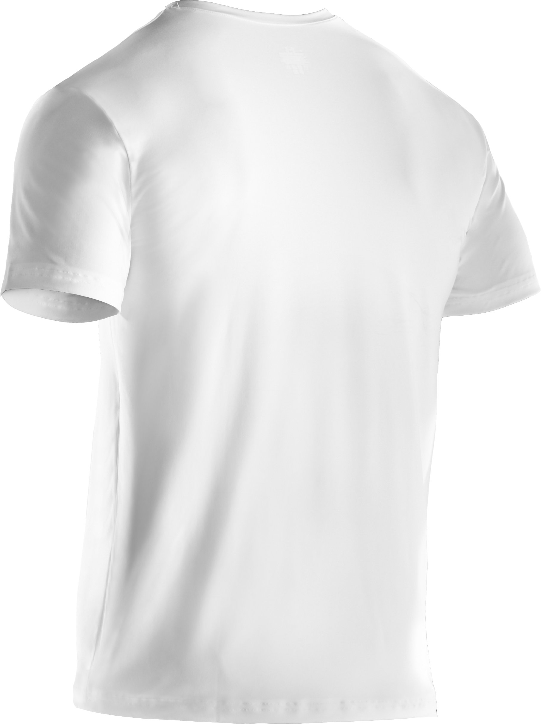 Men's The Original UA Fitted Crew Undershirt, White