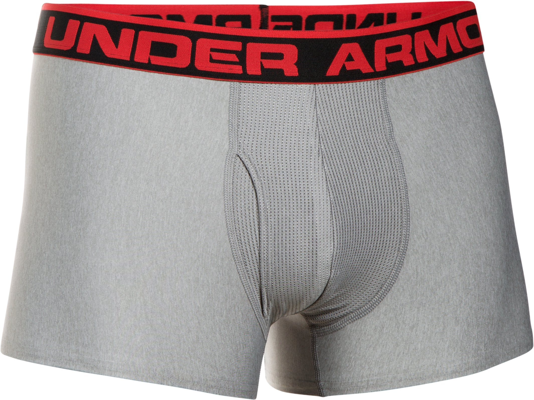 "Men's UA Original Series 3"" Boxerjock®, True Gray Heather, undefined"