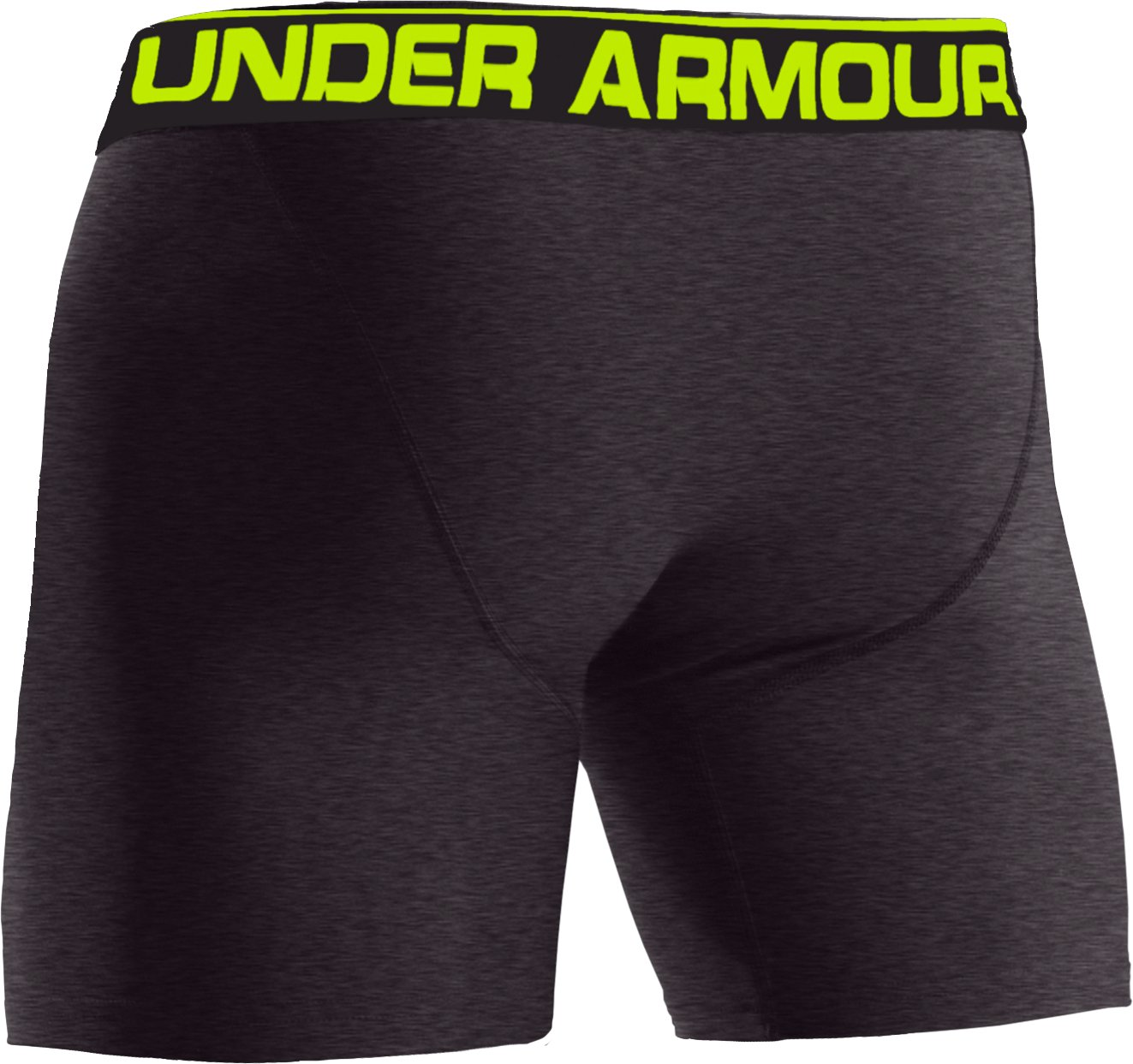 "Men's UA Original Series 6"" Boxerjock®, Carbon Heather,"