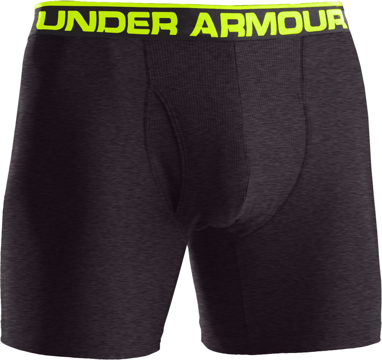 "Men's UA Original Series 6"" Boxerjock®, Carbon Heather, undefined"