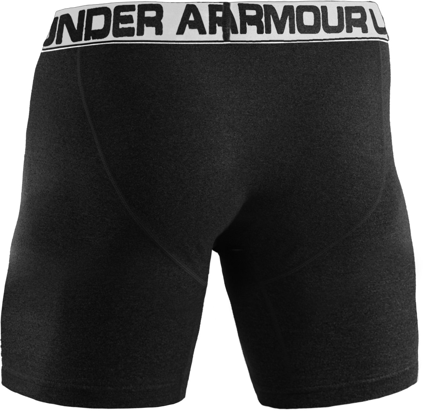 "Men's UA Touch 6"" Boxerjock® Boxer Briefs, Black"