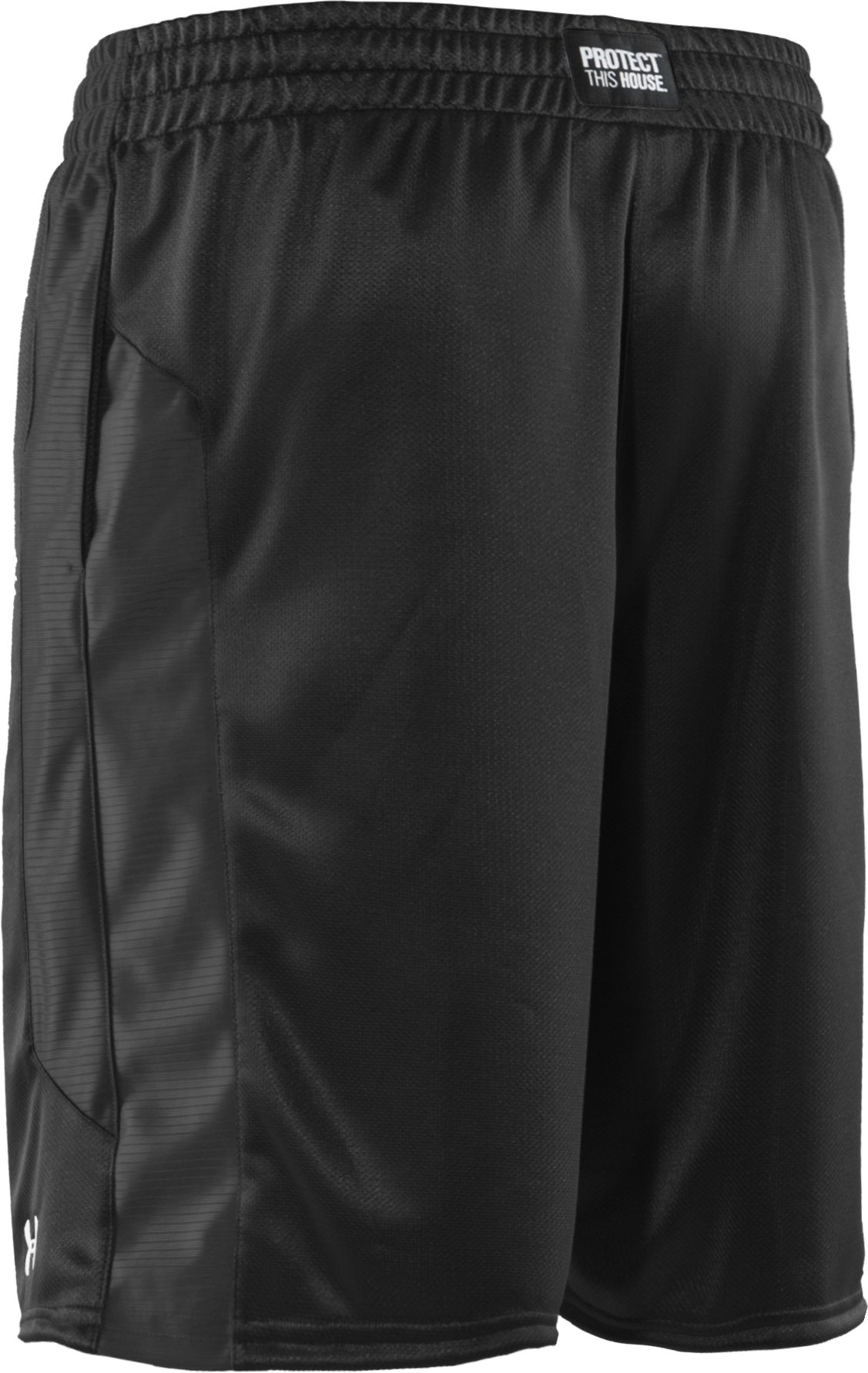 "Men's UA Never Lose 10"" Basketball Shorts, Black , undefined"