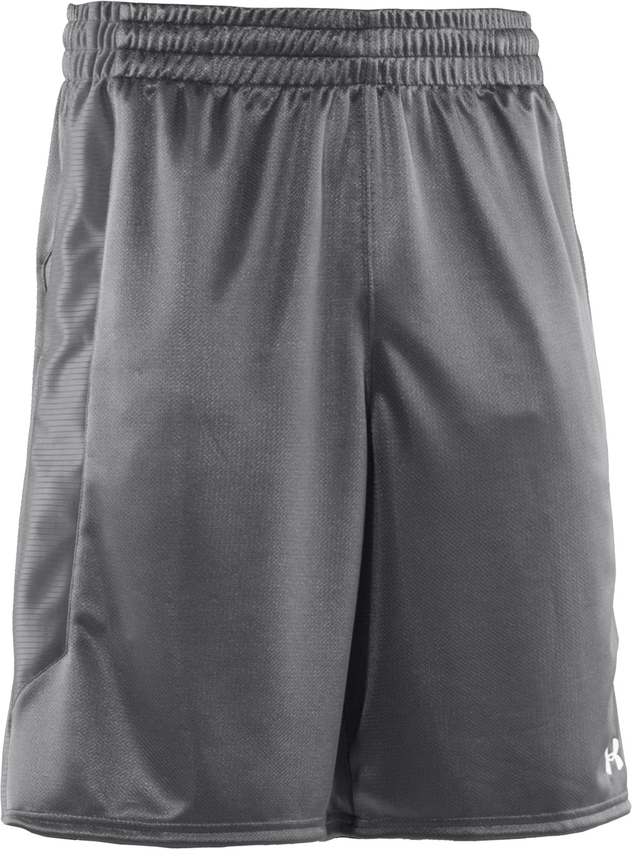 "Men's UA Never Lose 10"" Basketball Shorts, Graphite"