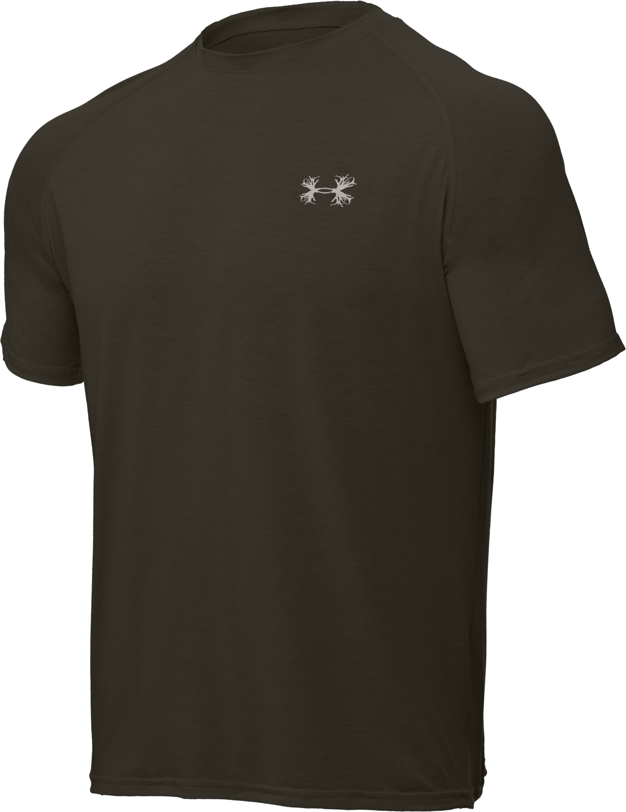 Men's UA Antler Logo T-Shirt, Rifle Green, undefined