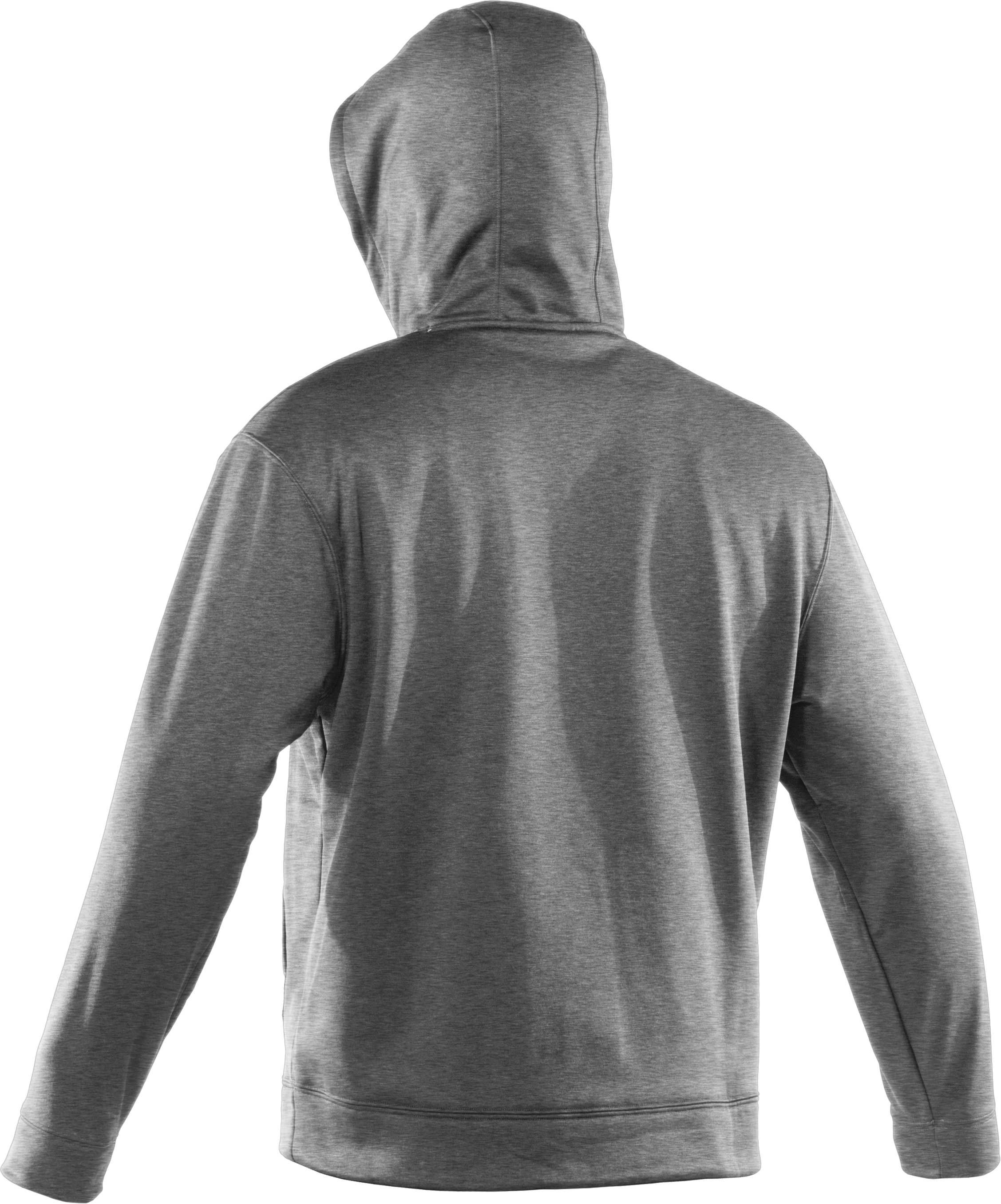Men's Team Charged Cotton® Storm Hoodie, True Gray Heather, undefined