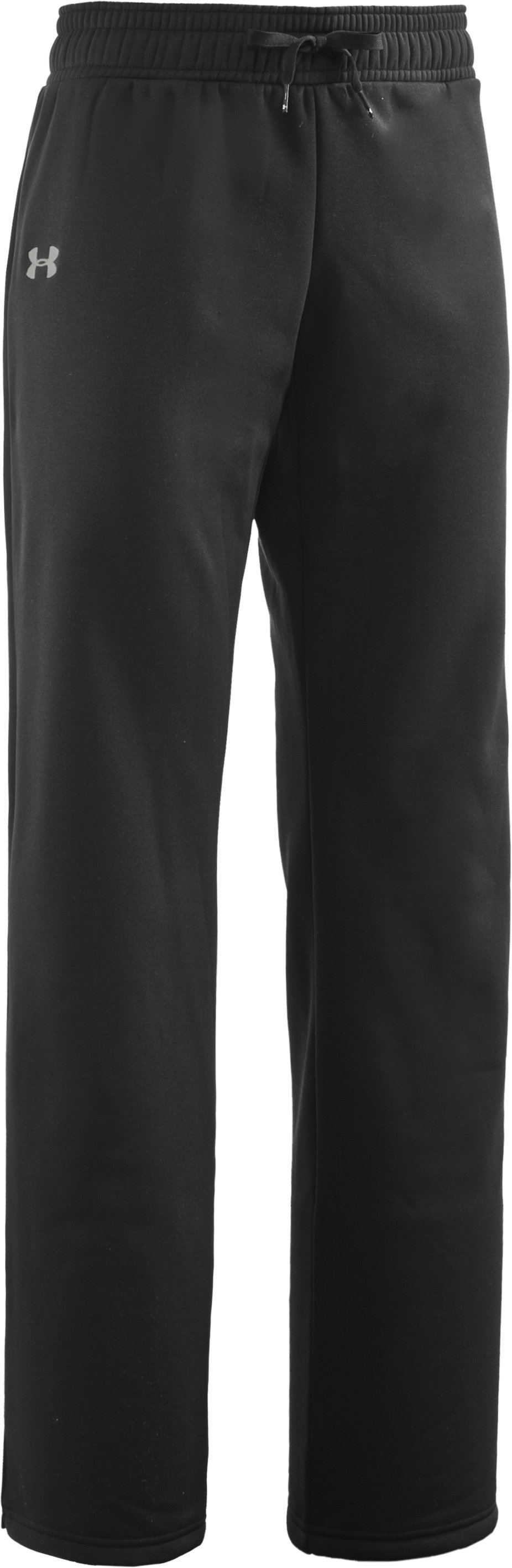 "Women's 34"" Armour® Fleece Pants - Tall, Black , undefined"