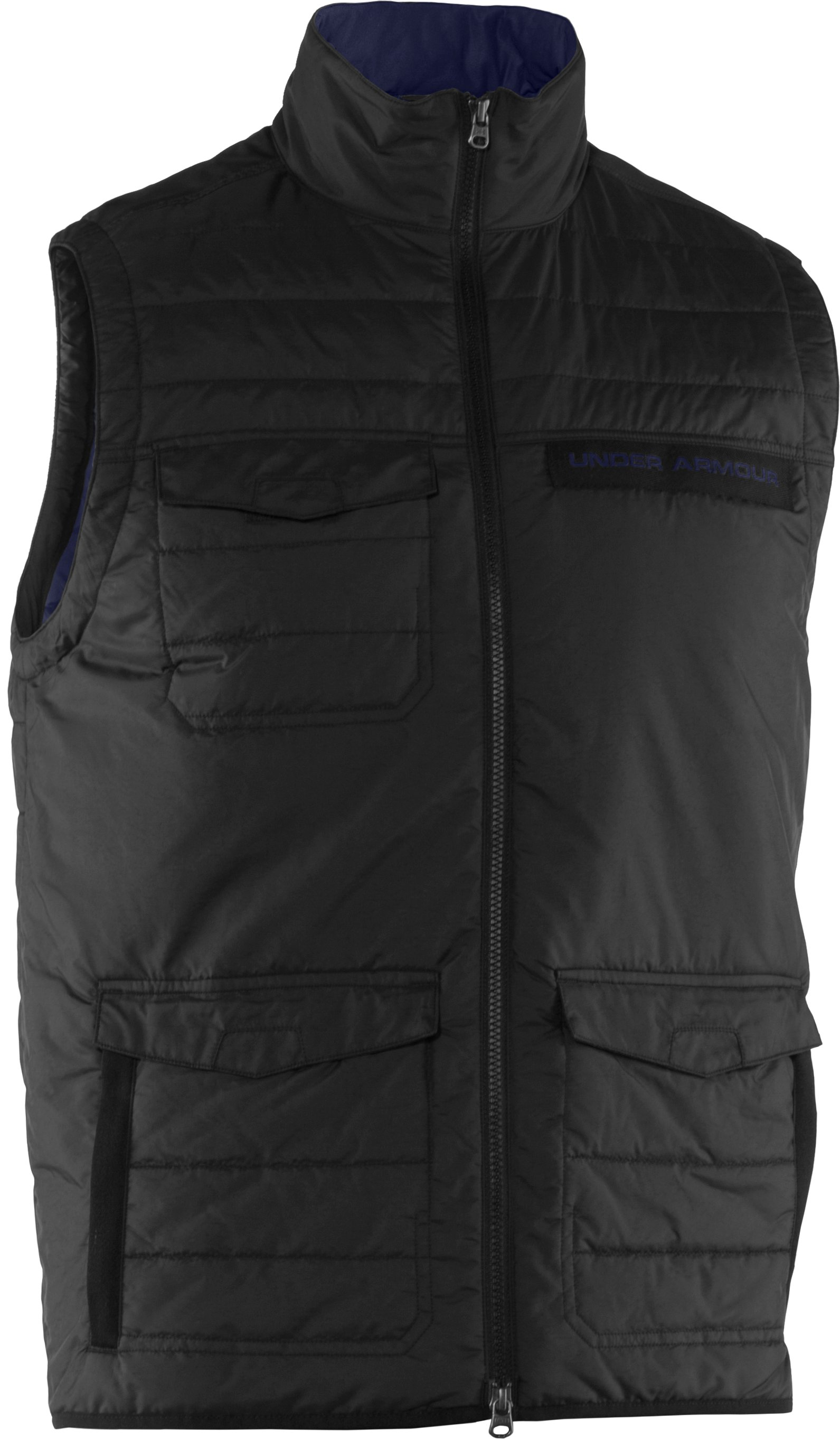Men's UA Wolfe Vest, Black , undefined