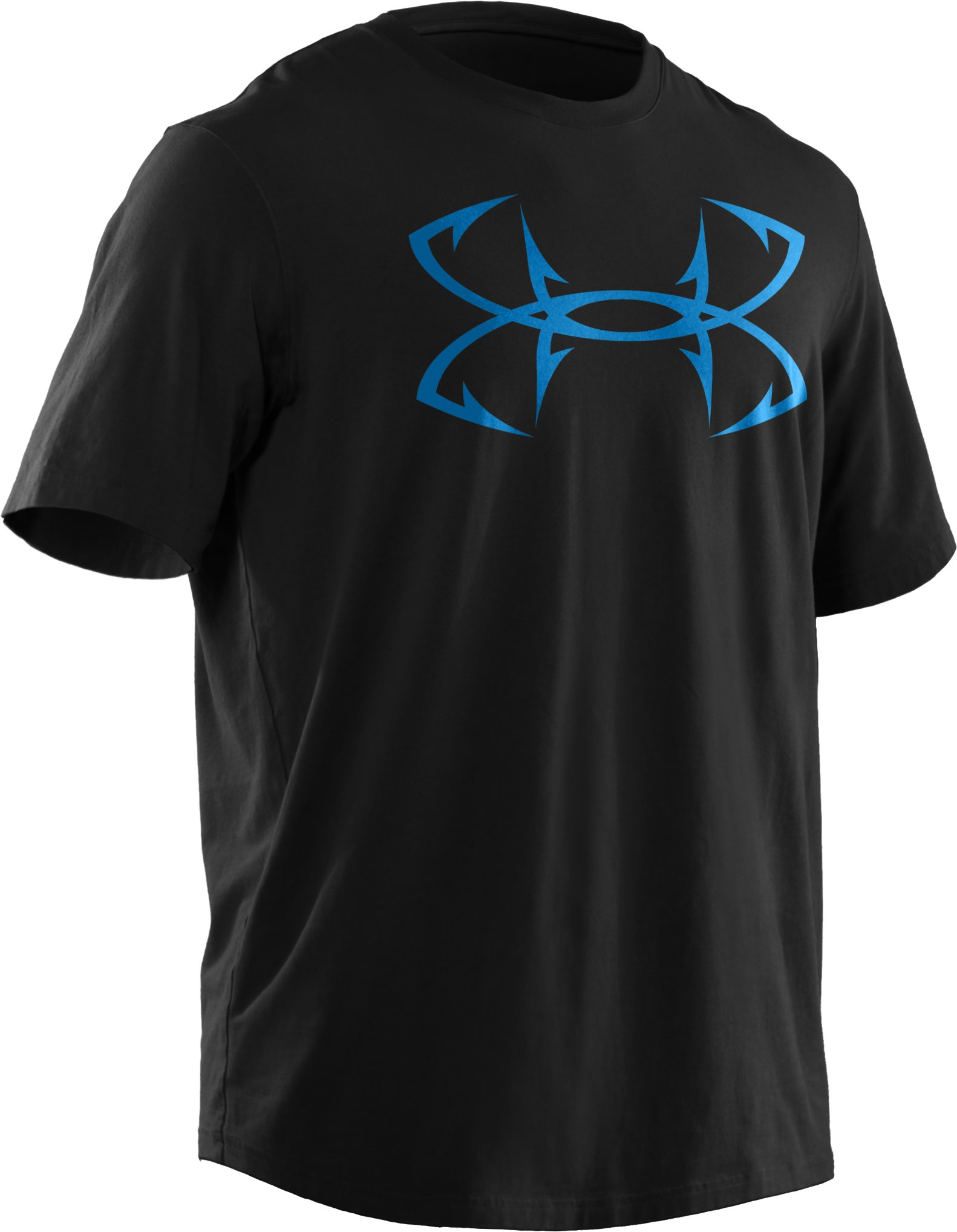 Men's UA Fish Hook Logo T-Shirt, Black