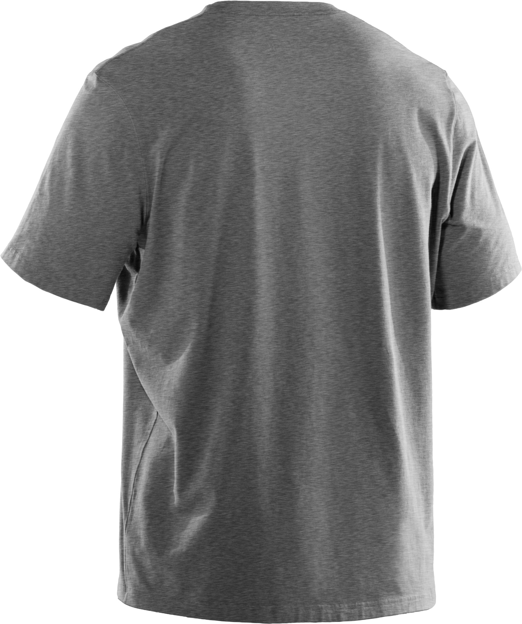 Men's UA Fish Hook Logo T-Shirt, True Gray Heather