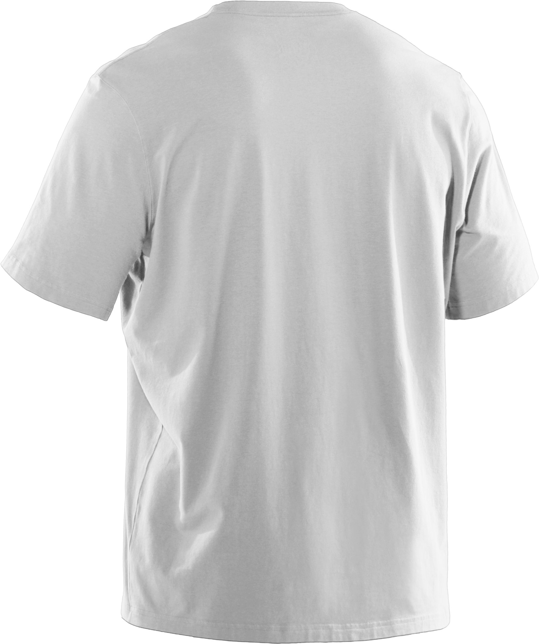 Men's UA Fish Hook Logo T-Shirt, White, undefined