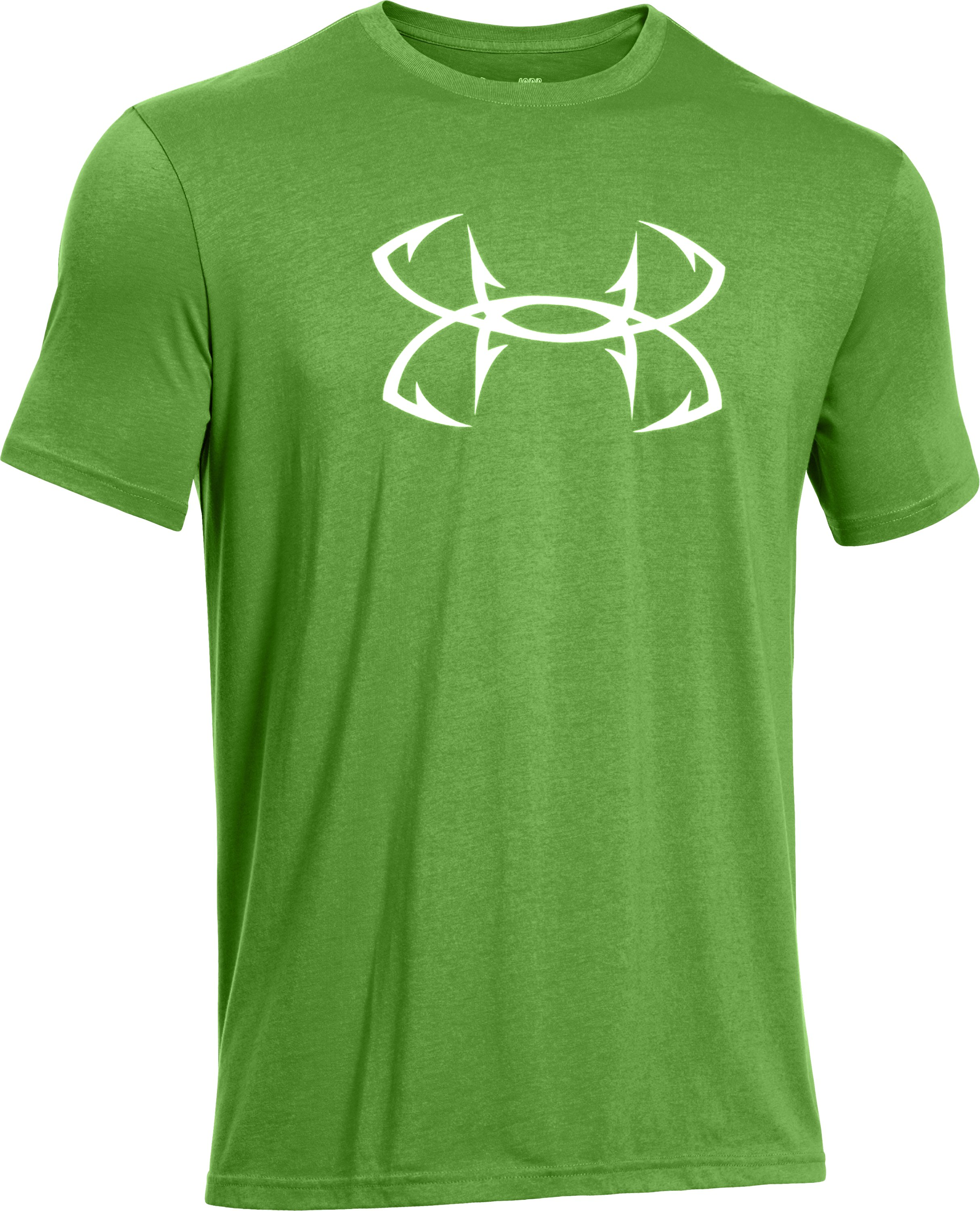 Men's UA Fish Hook Logo T-Shirt, Battle, undefined