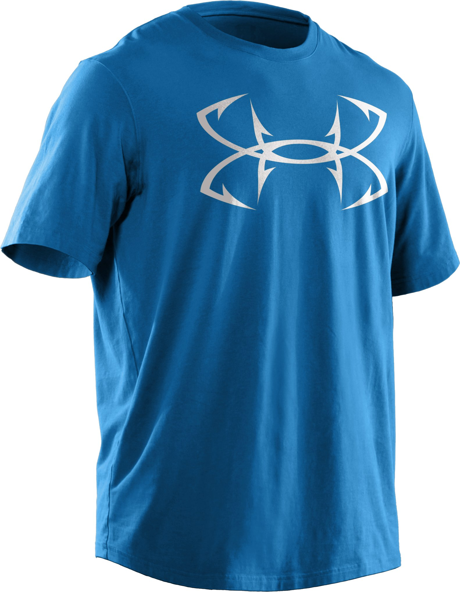 Men's UA Fish Hook Logo T-Shirt, St. Tropez, undefined
