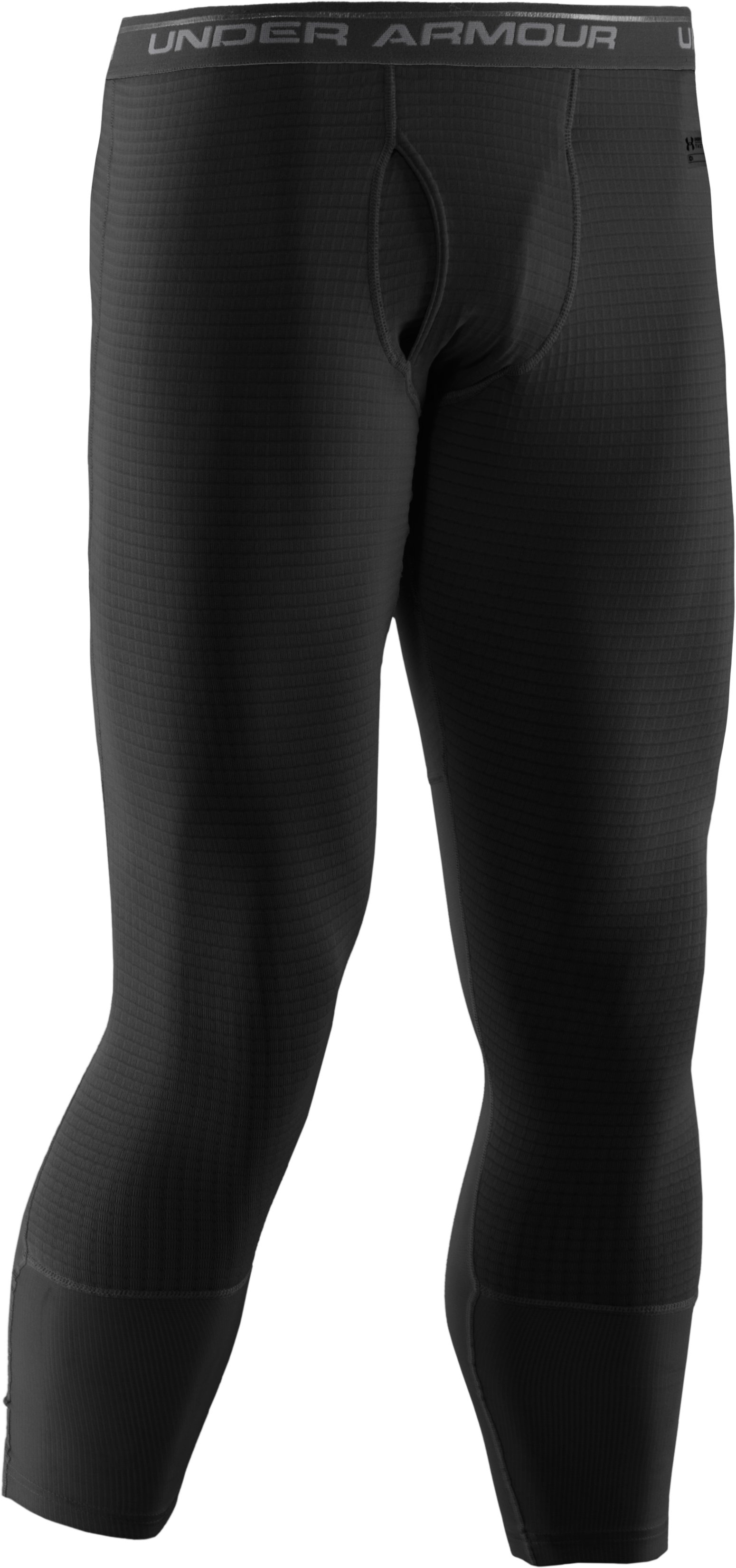 Men's Tactical UA Base™ Leggings, Black , undefined