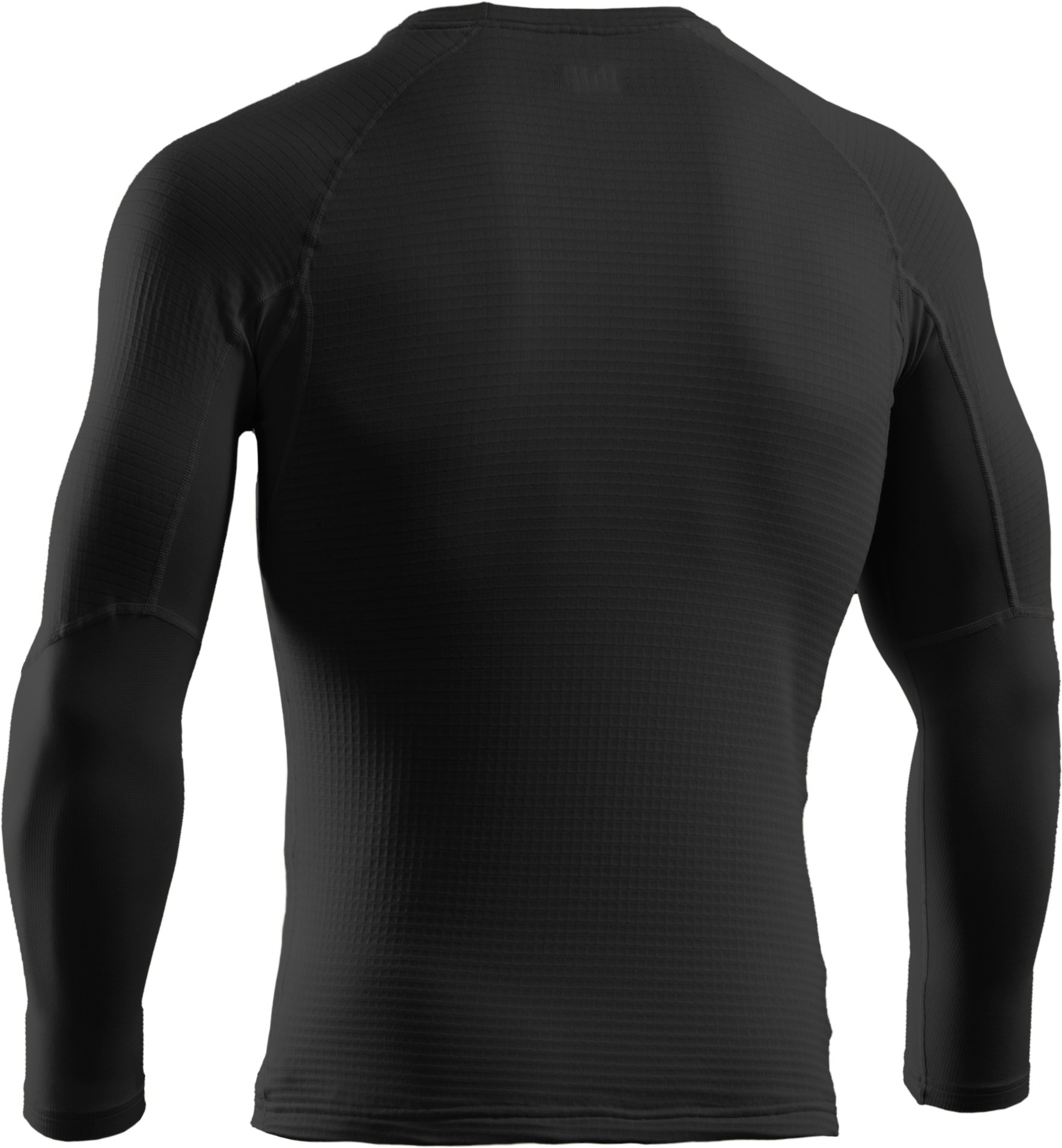 Men's Tactical UA Base™ Crew, Black