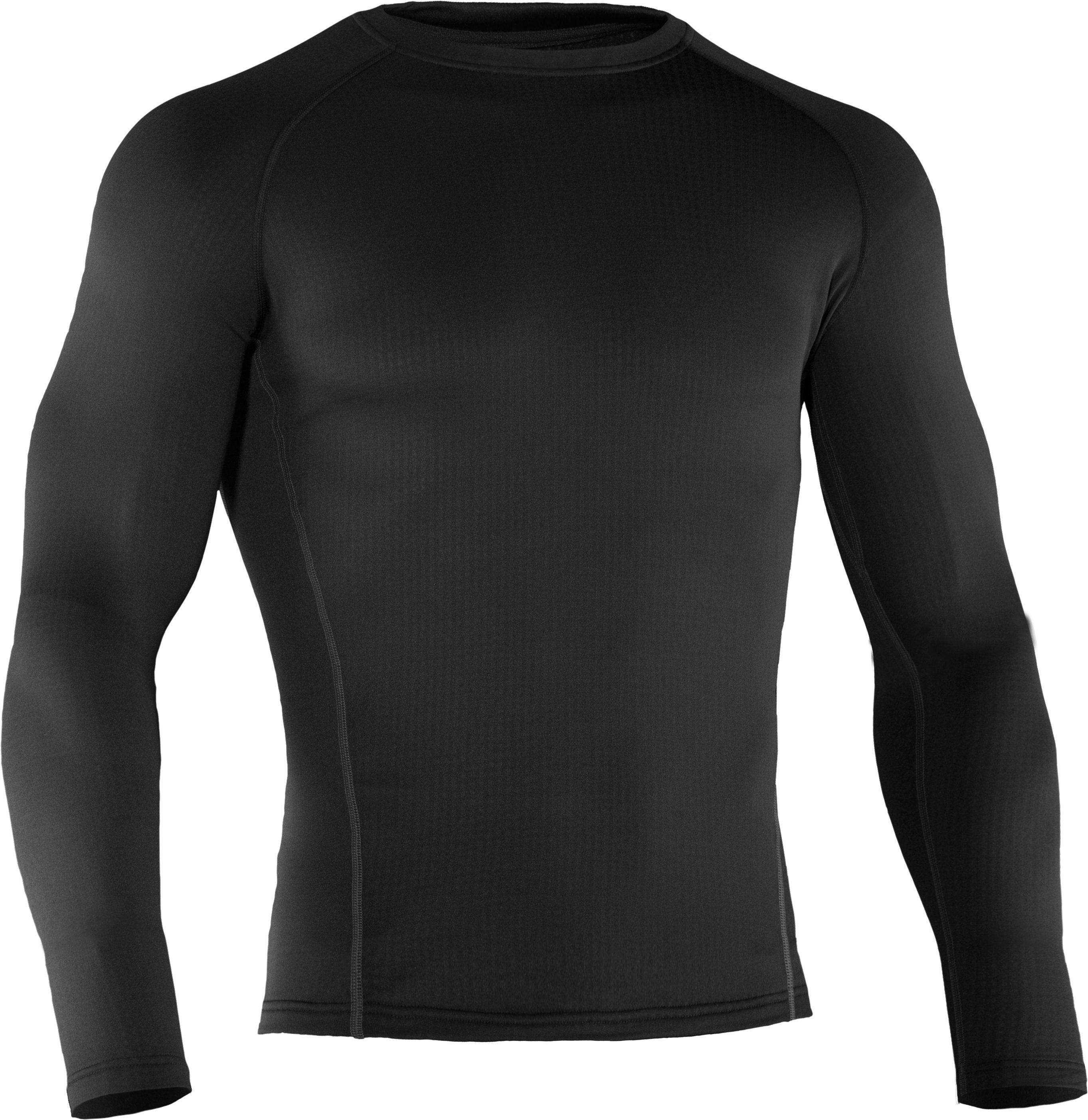 Men's UA Base™ 2.0 Baselayer Crew, Black