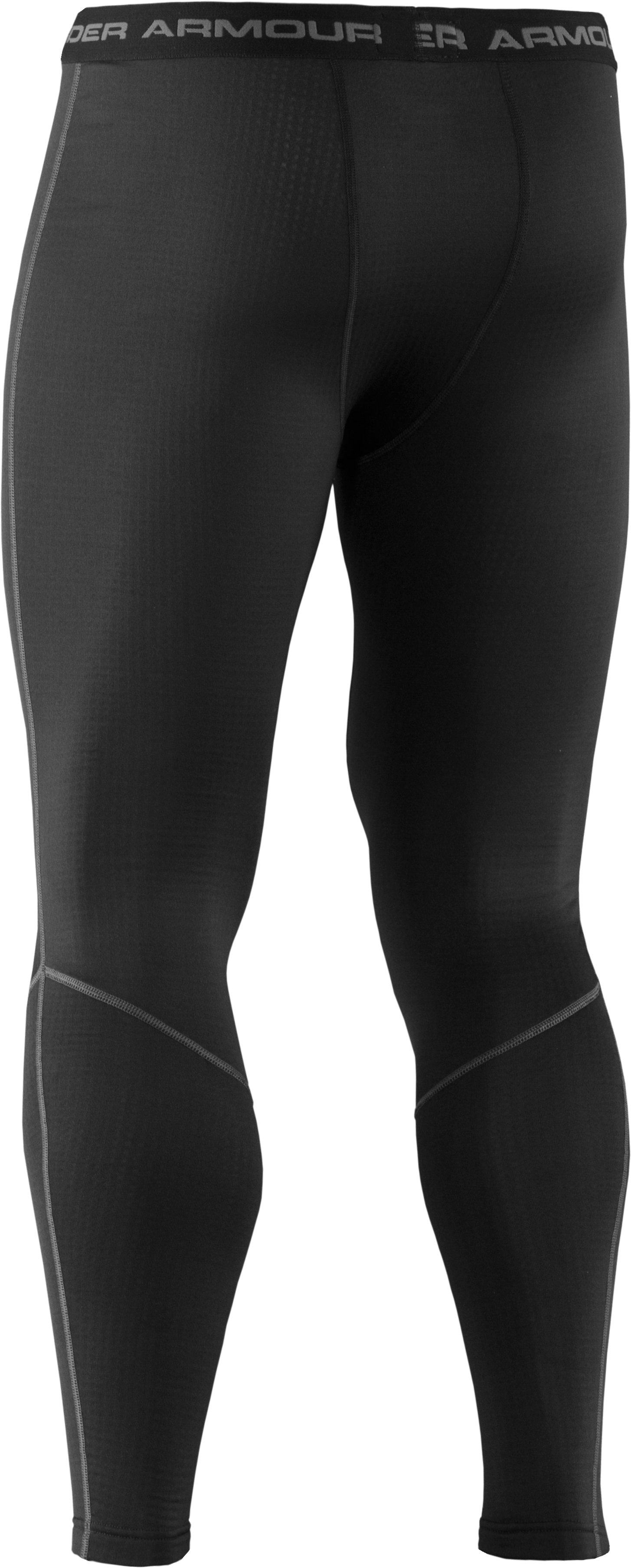 Men's UA Base™ 2.0 Baselayer Leggings, Black , undefined