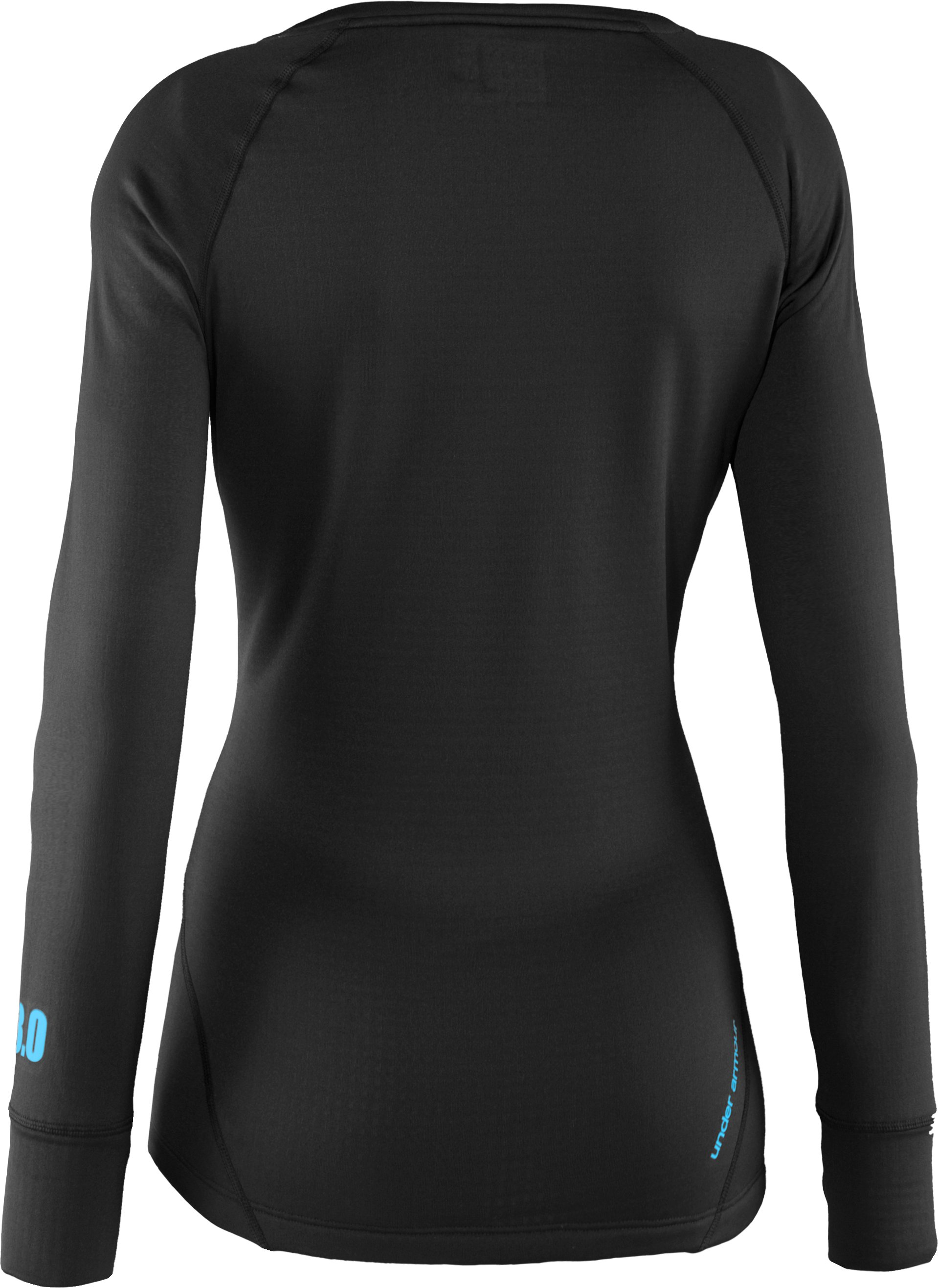 Women's UA Base™ 3.0 Crew, Black