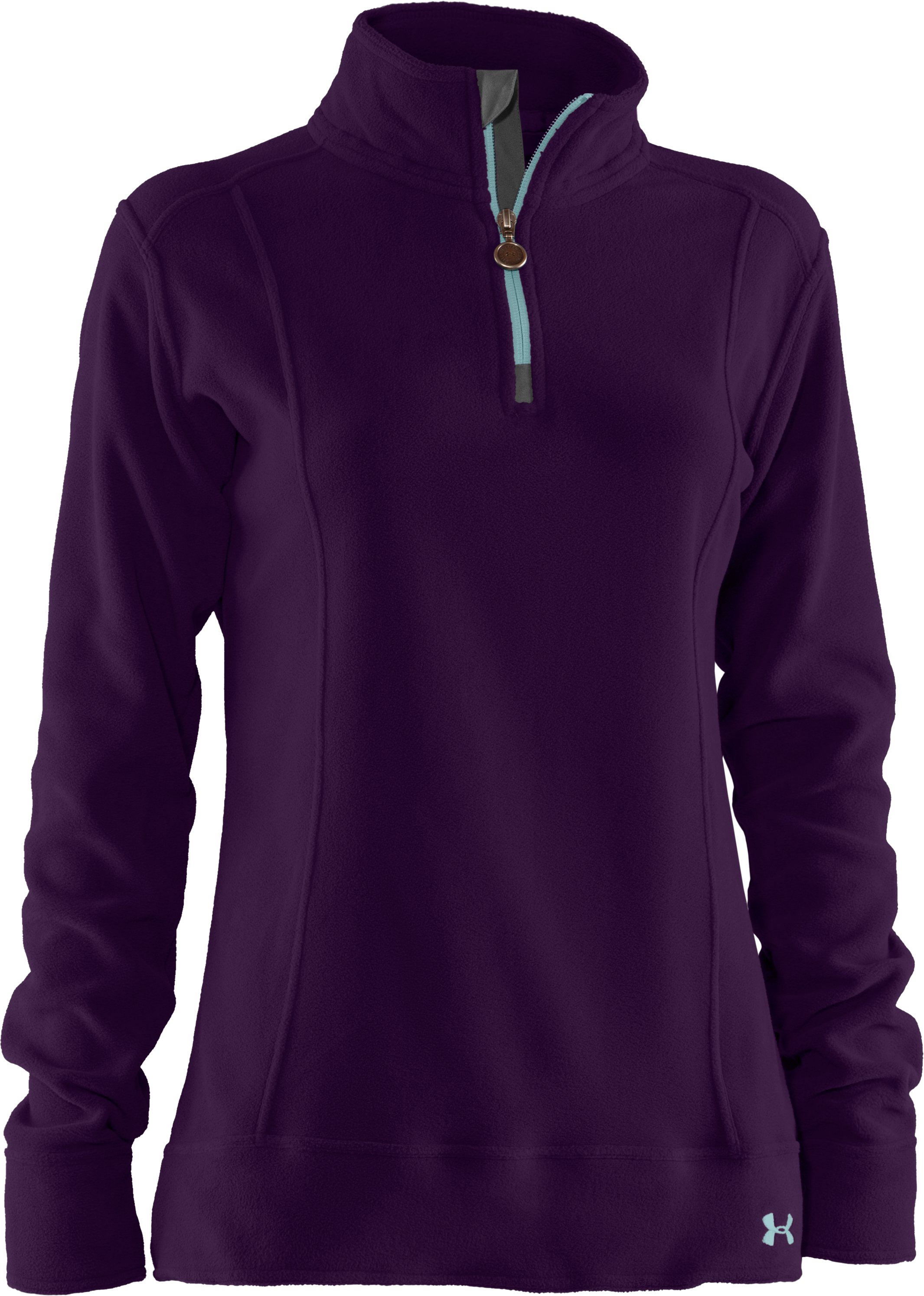 Women's UA Hundo® ¼ Zip Fleece, Cyclone