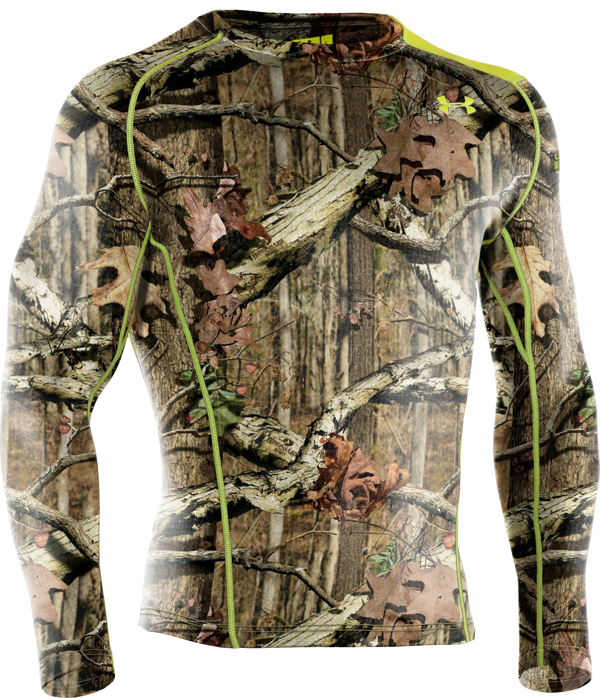 Men's UA Base™ 2.0 Scent Control Crew, Mossy Oak Break-Up Infinity, undefined