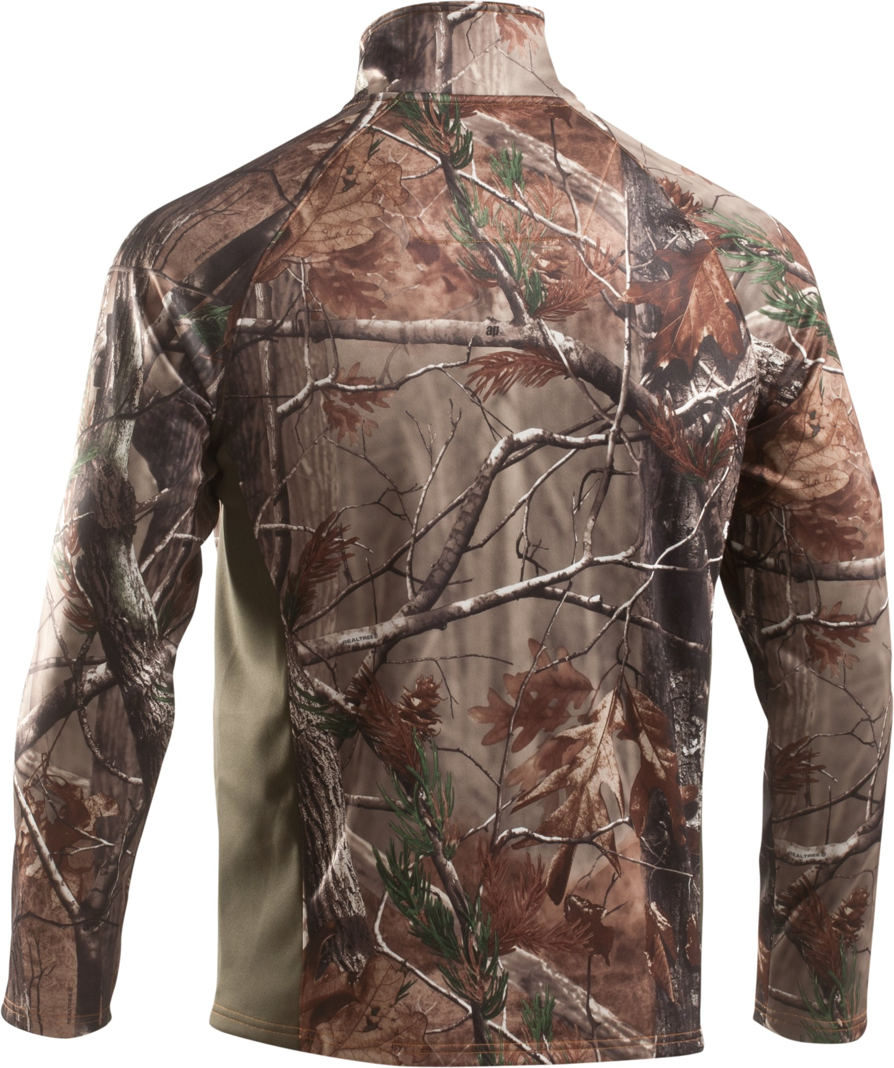 Men's UA Performance ¼ Zip Fleece, Realtree AP, undefined