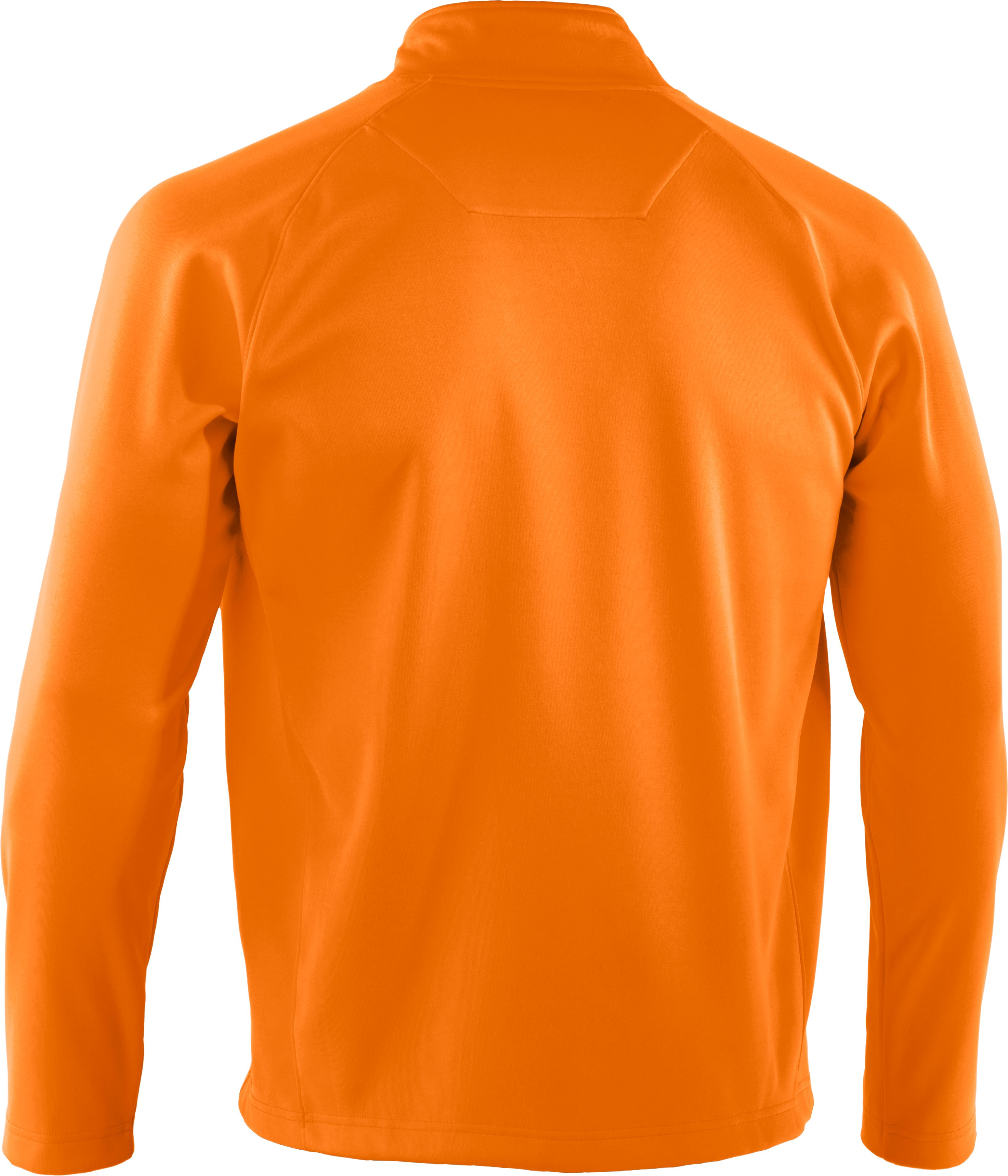 Men's UA Performance ¼ Zip Fleece, Blaze Orange