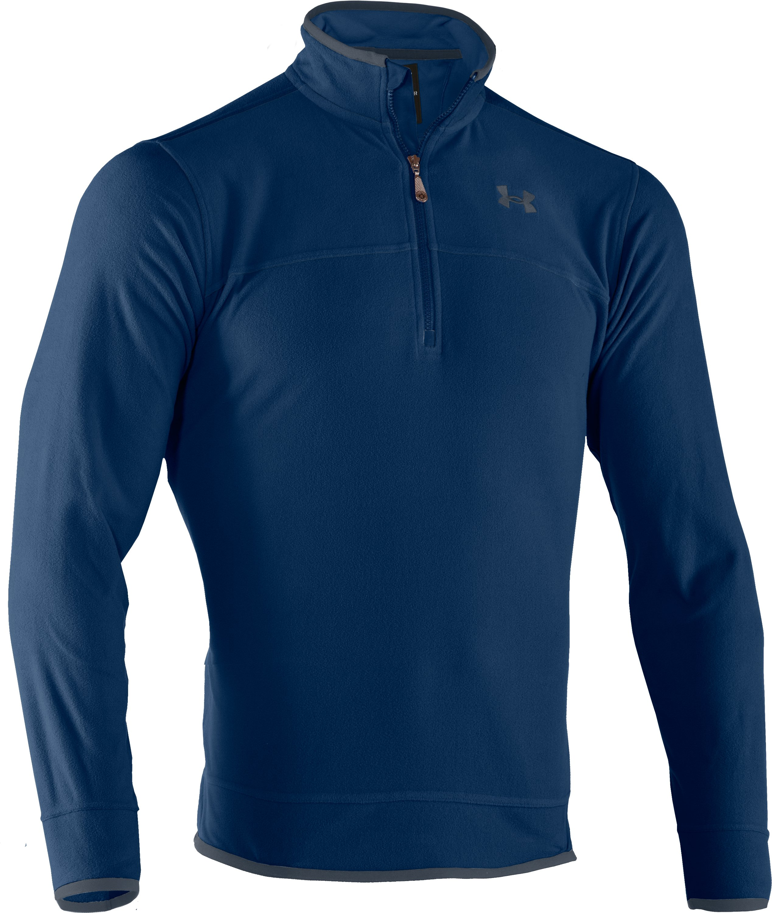 Men's UA Furrow ¼ Zip Fleece, Strategic