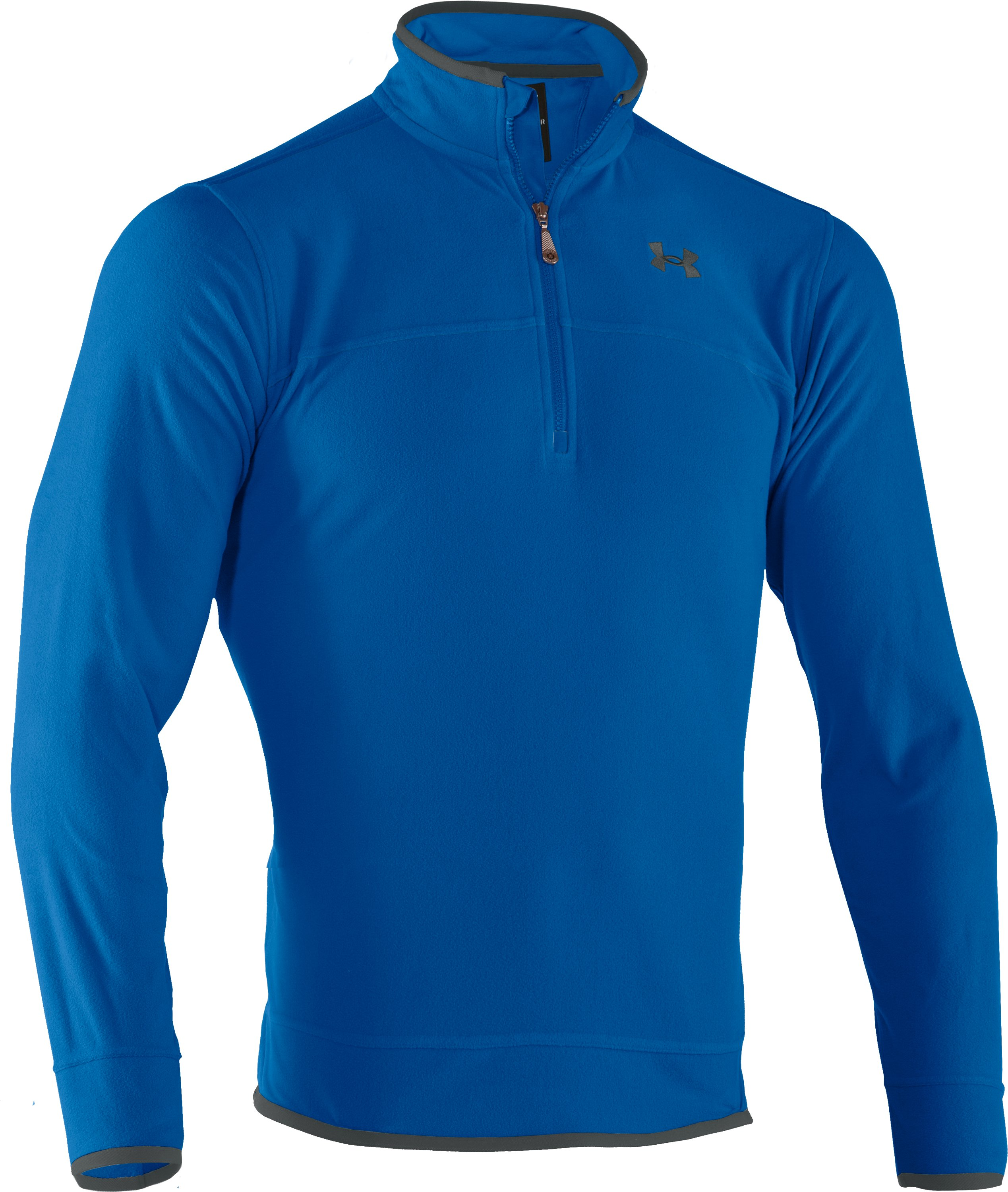 Men's UA Furrow ¼ Zip Fleece, St. Tropez