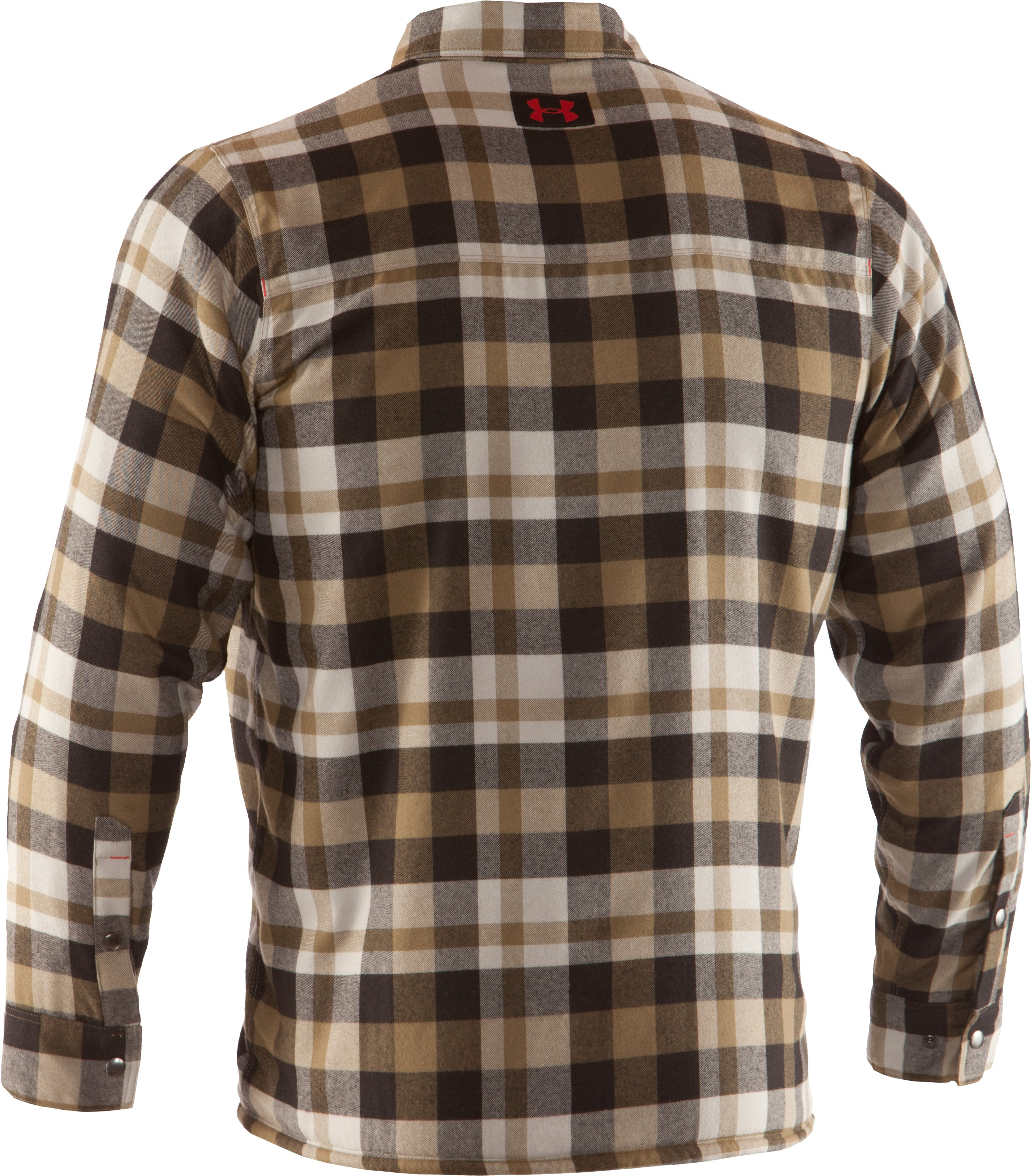 Men's UA Lined Shirt-Jacket, Drab