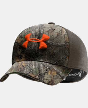 Men's UA Camo 2-Tone Stretch Fit Cap