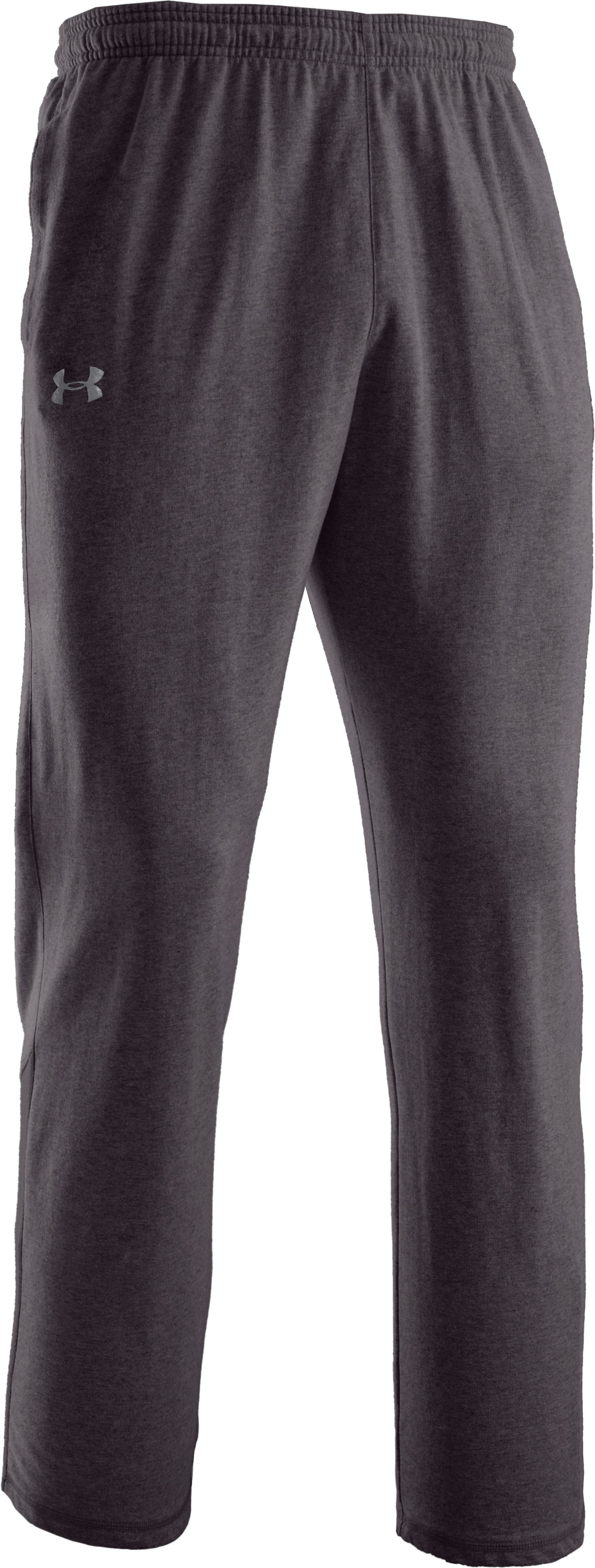 Men's Team Charged Cotton® Storm Pants, Carbon Heather,