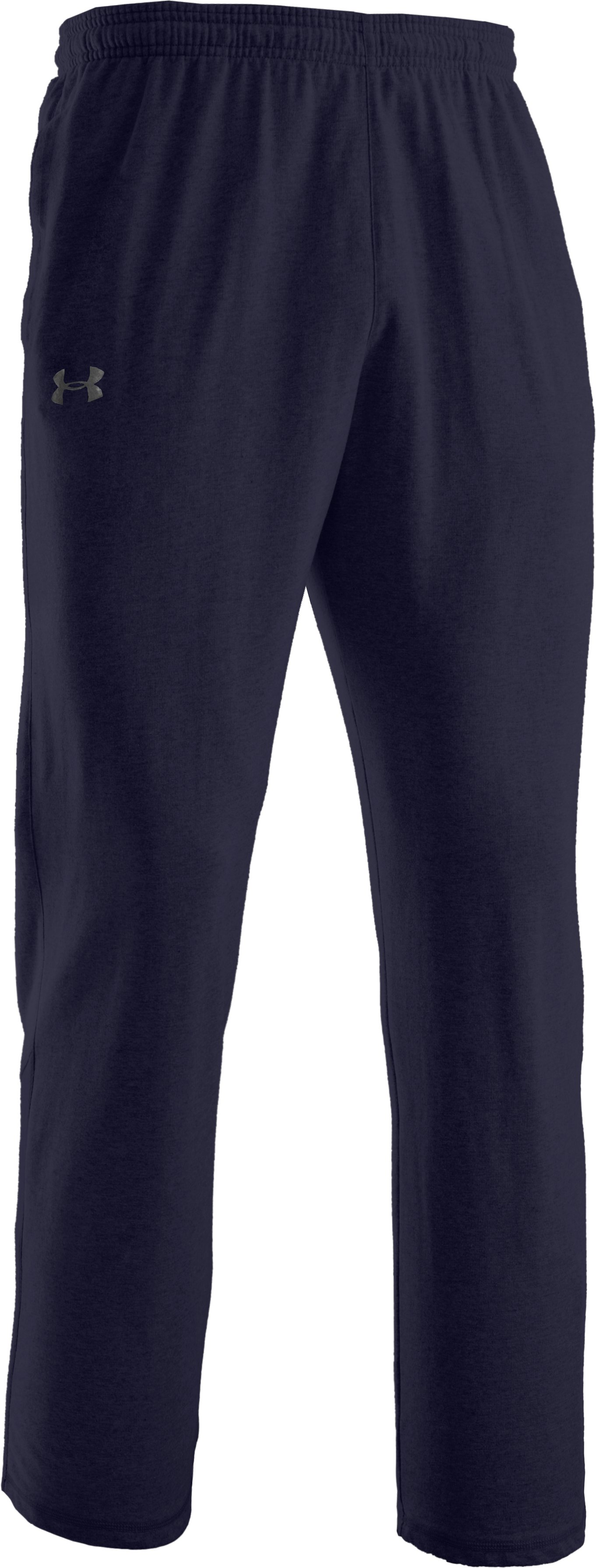 Men's Team Charged Cotton® Storm Pants, Midnight Navy, undefined