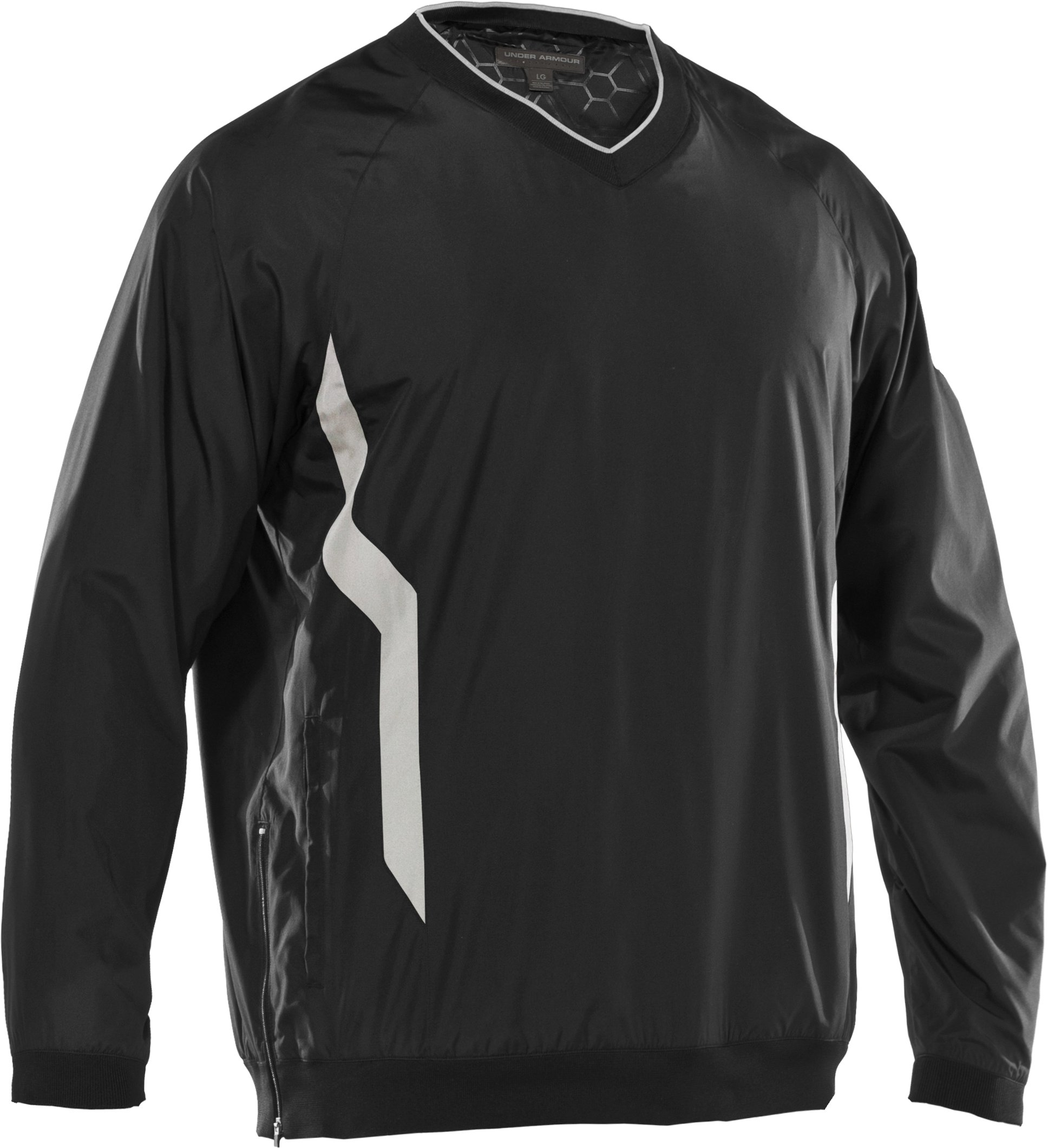 Men's Gamer V-Neck AllSeasonGear® Jacket, Black