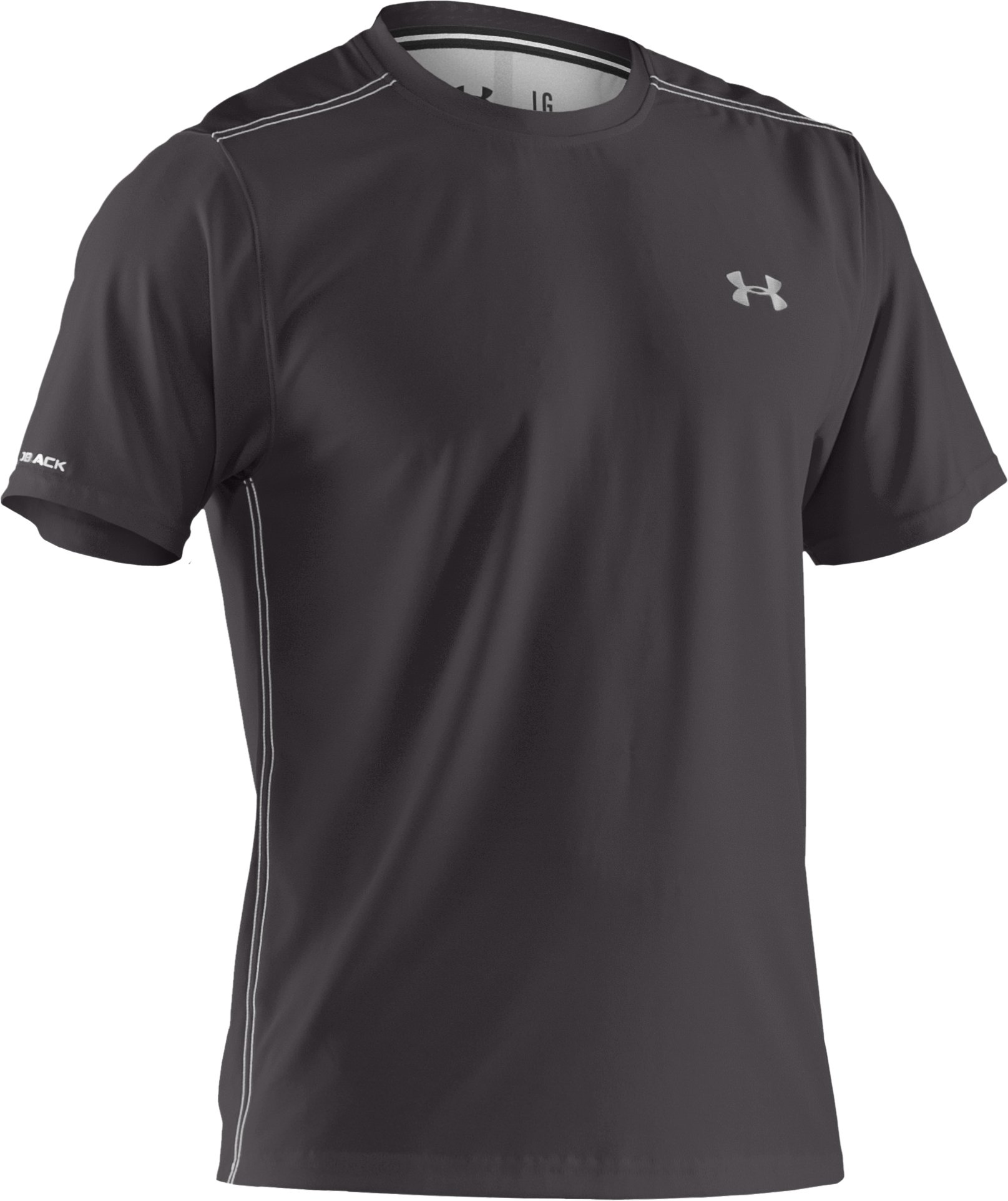Men's coldblack® Short Sleeve T-Shirt, Charcoal