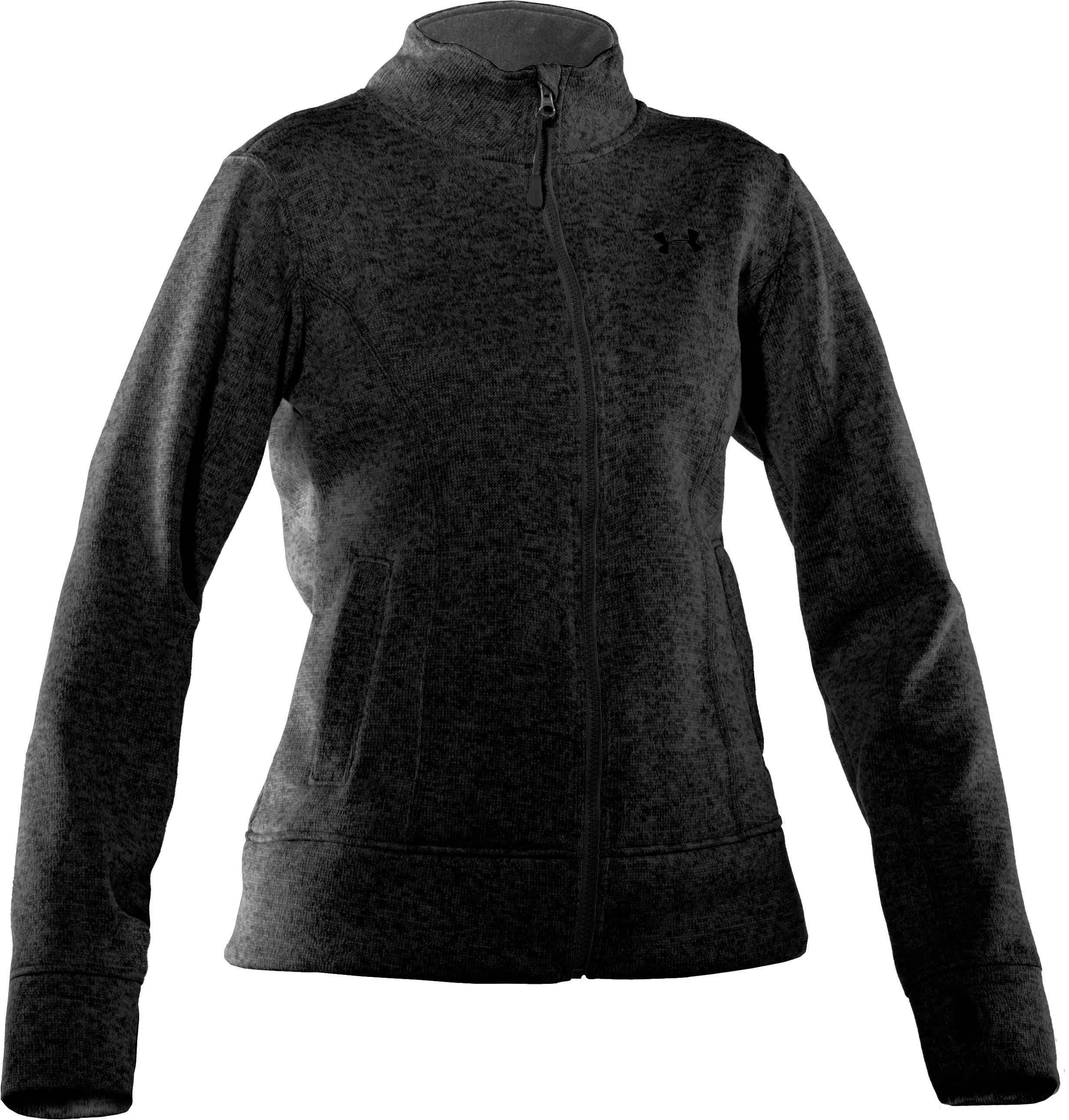 Women's UA Storm Rally Jacket, Black , undefined
