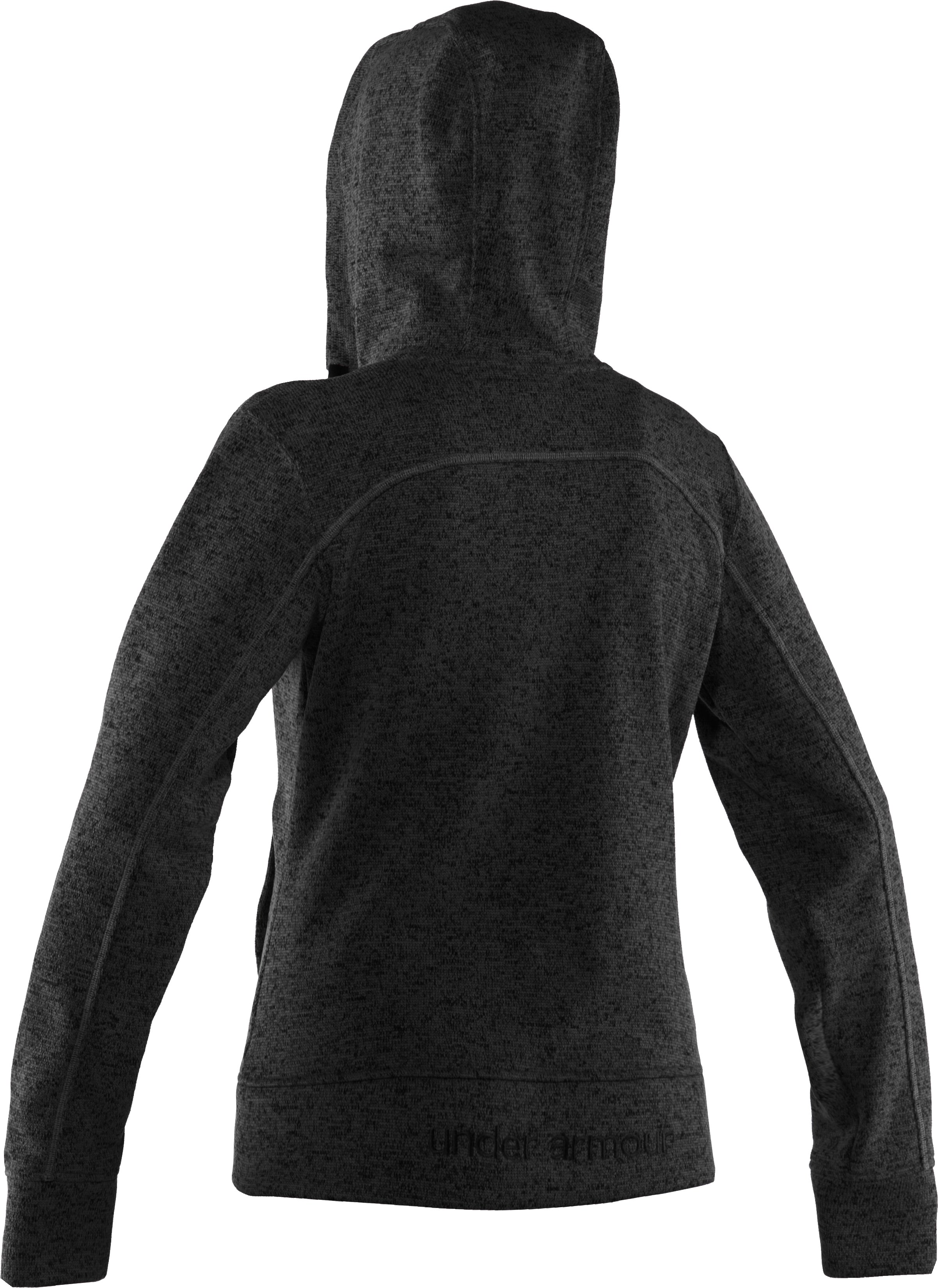 Women's UA Storm Rally Hoodie, Black , undefined