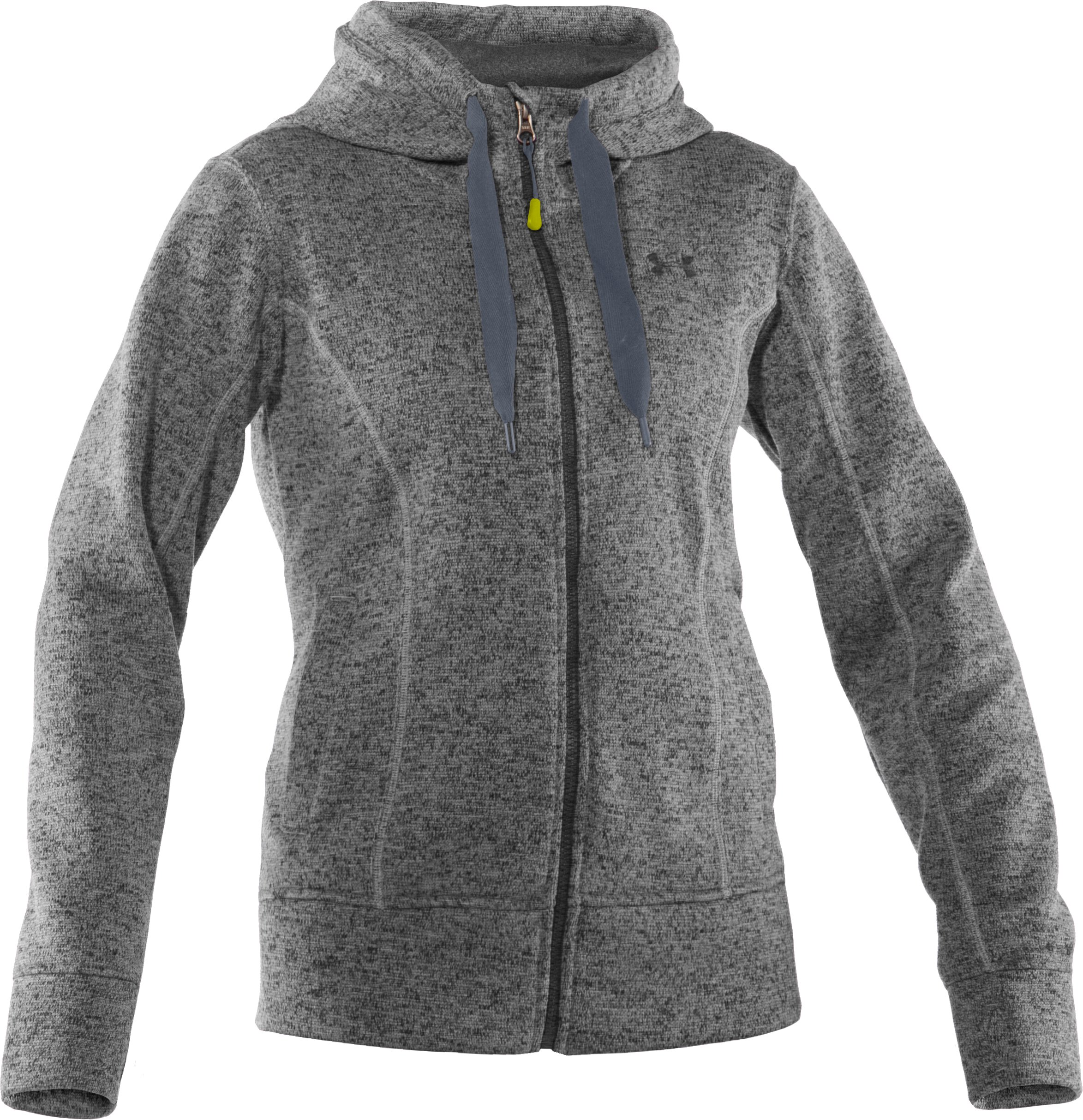 Women's UA Storm Rally Hoodie, True Gray Heather