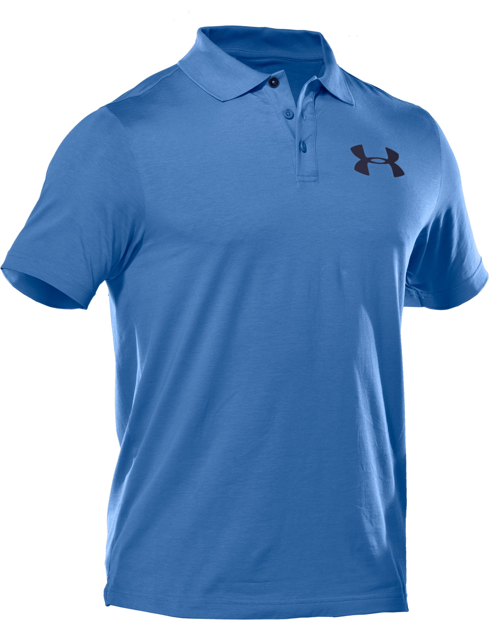 Men's Charged Cotton® Jersey Solid Polo, Moody