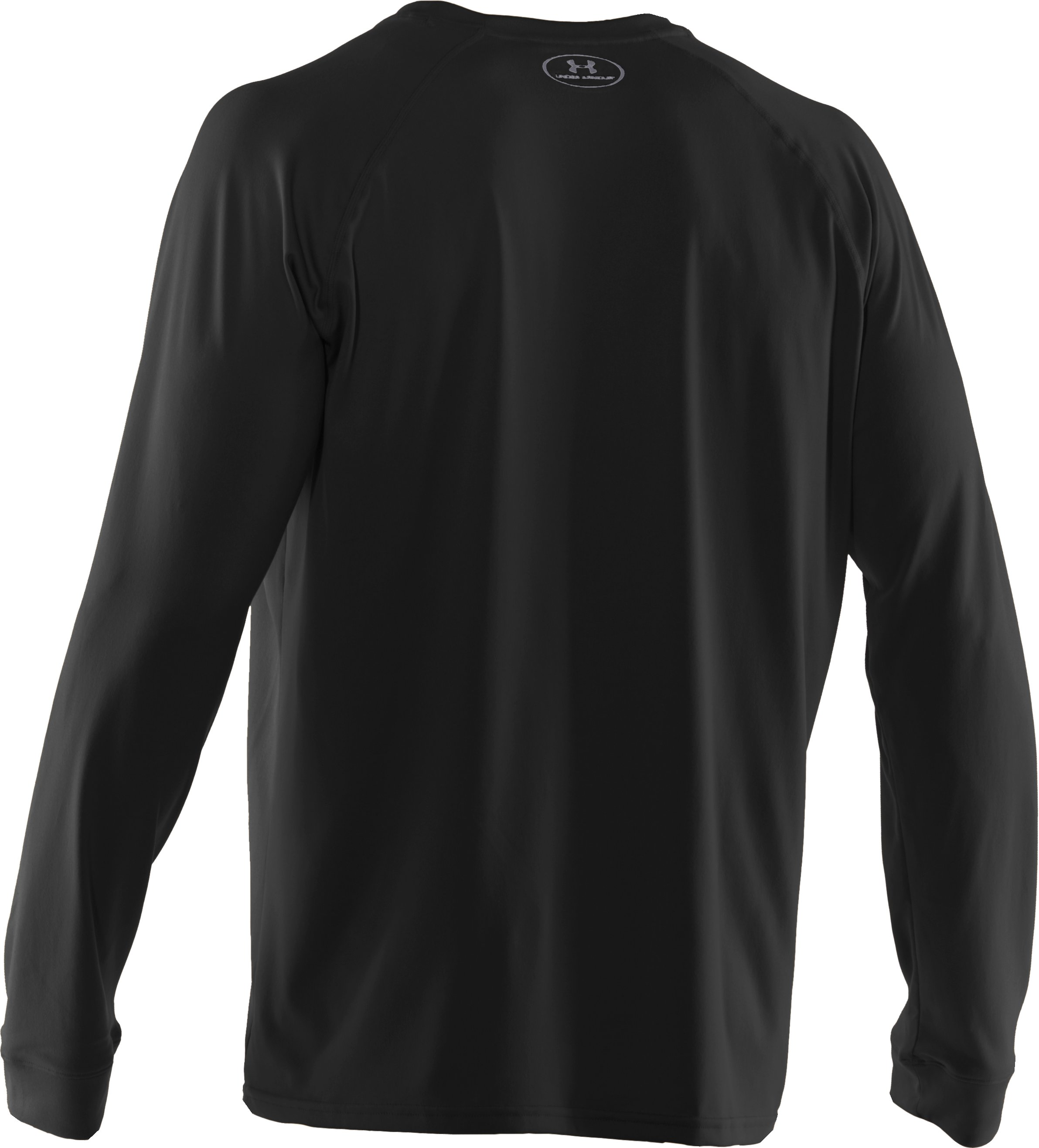Men's UA Tech™ Long Sleeve T-Shirt, Black ,