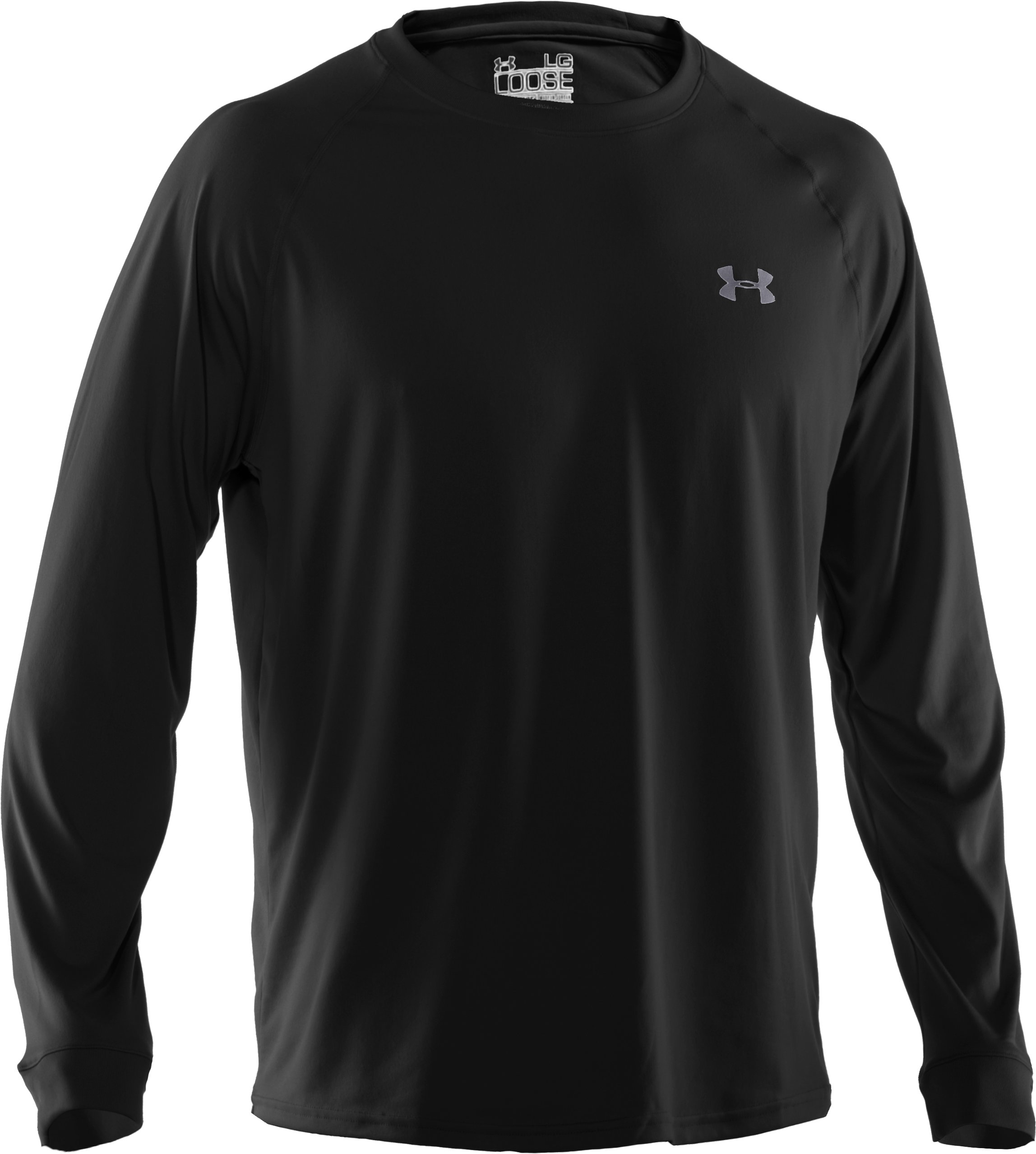 Men's UA Tech™ Long Sleeve T-Shirt, Black