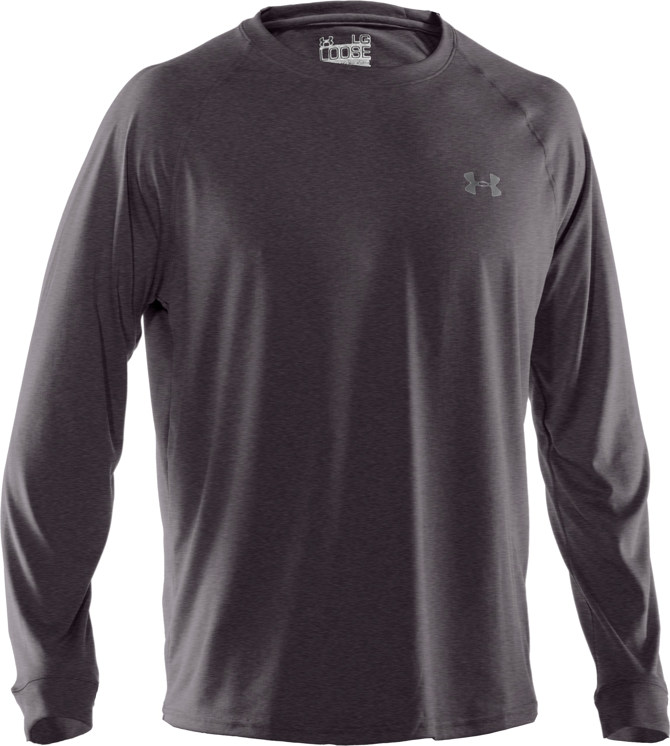 Men's UA Tech™ Long Sleeve T-Shirt, Carbon Heather