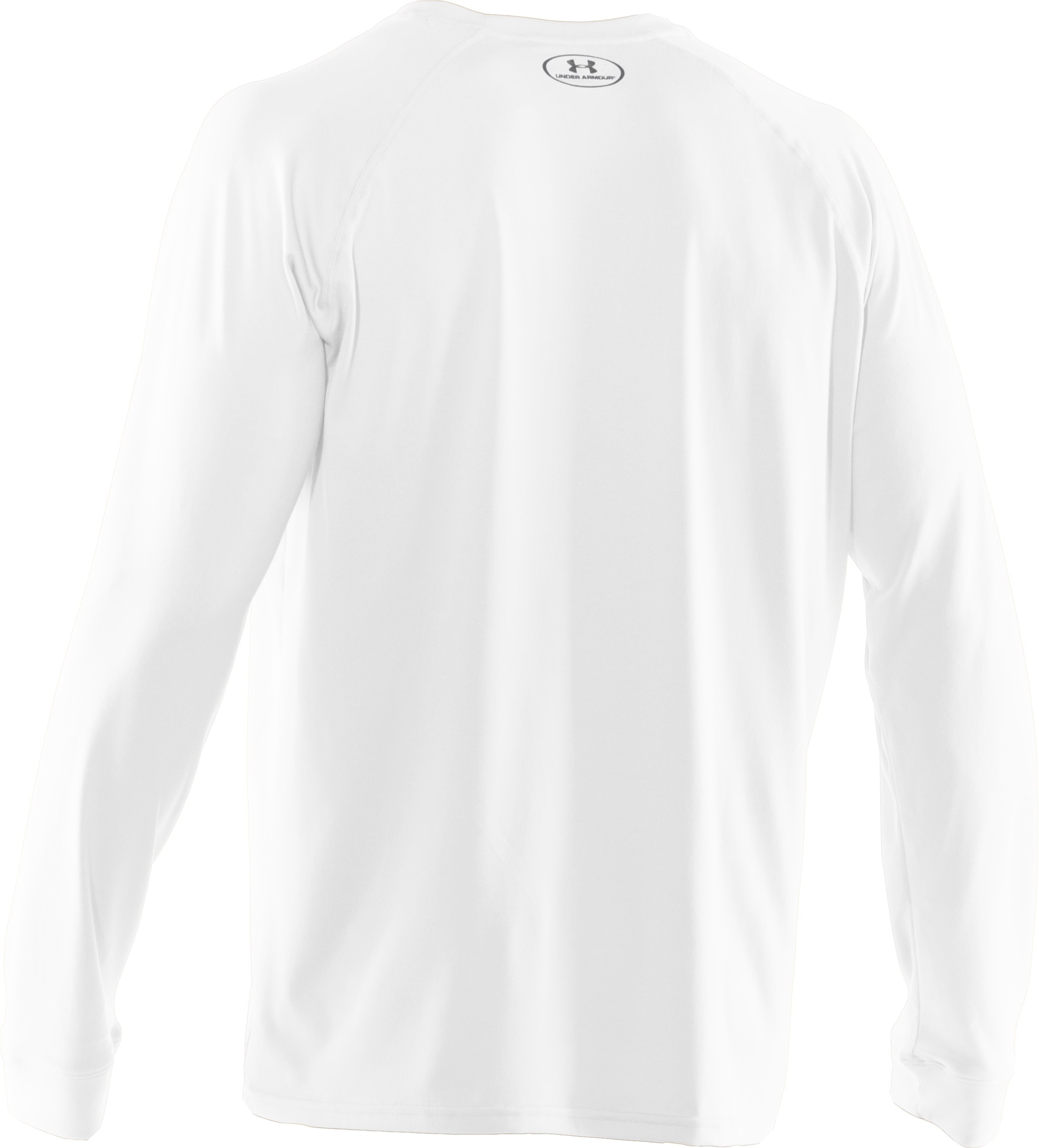 Men's UA Tech™ Long Sleeve T-Shirt, White
