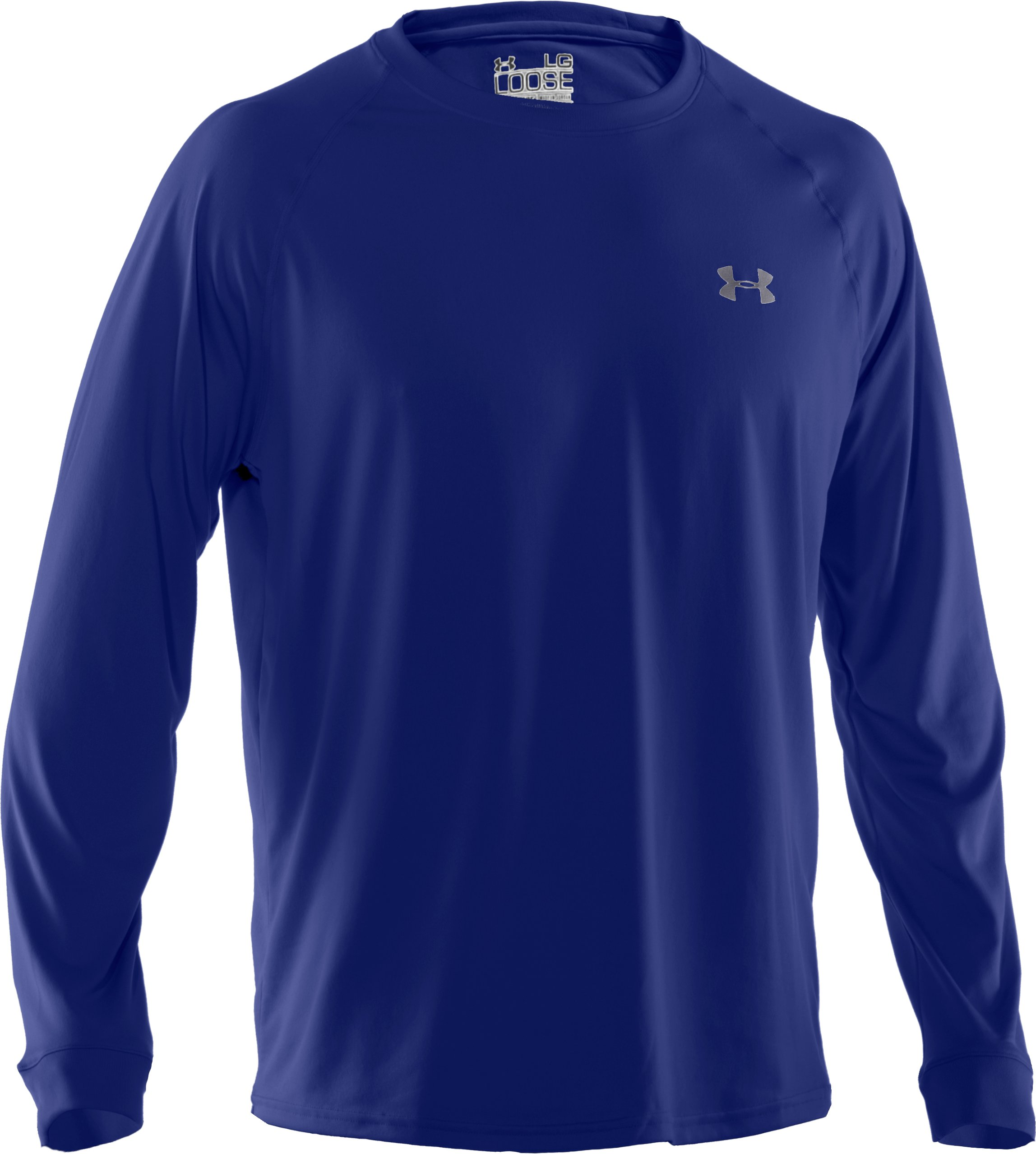 Men's UA Tech™ Long Sleeve T-Shirt, Royal
