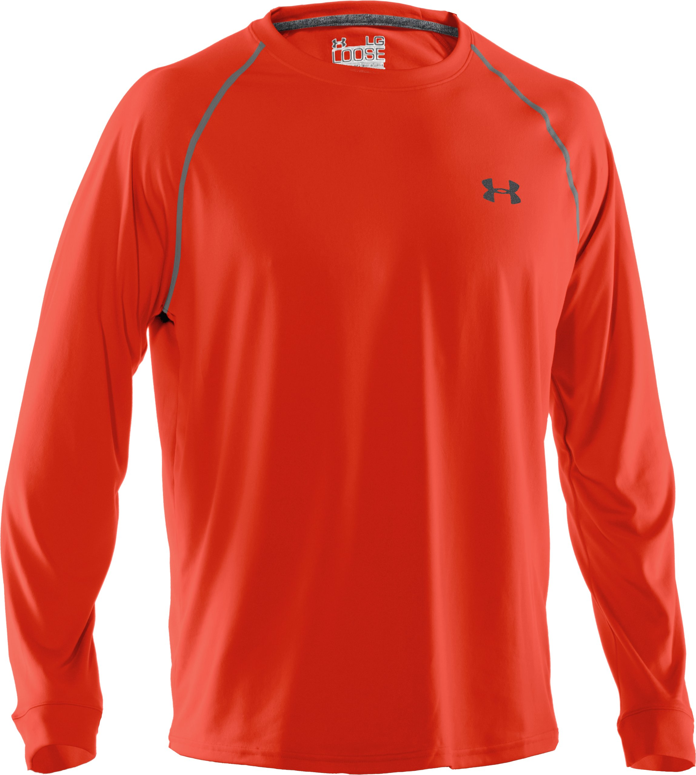 Men's UA Tech™ Long Sleeve T-Shirt, Noise
