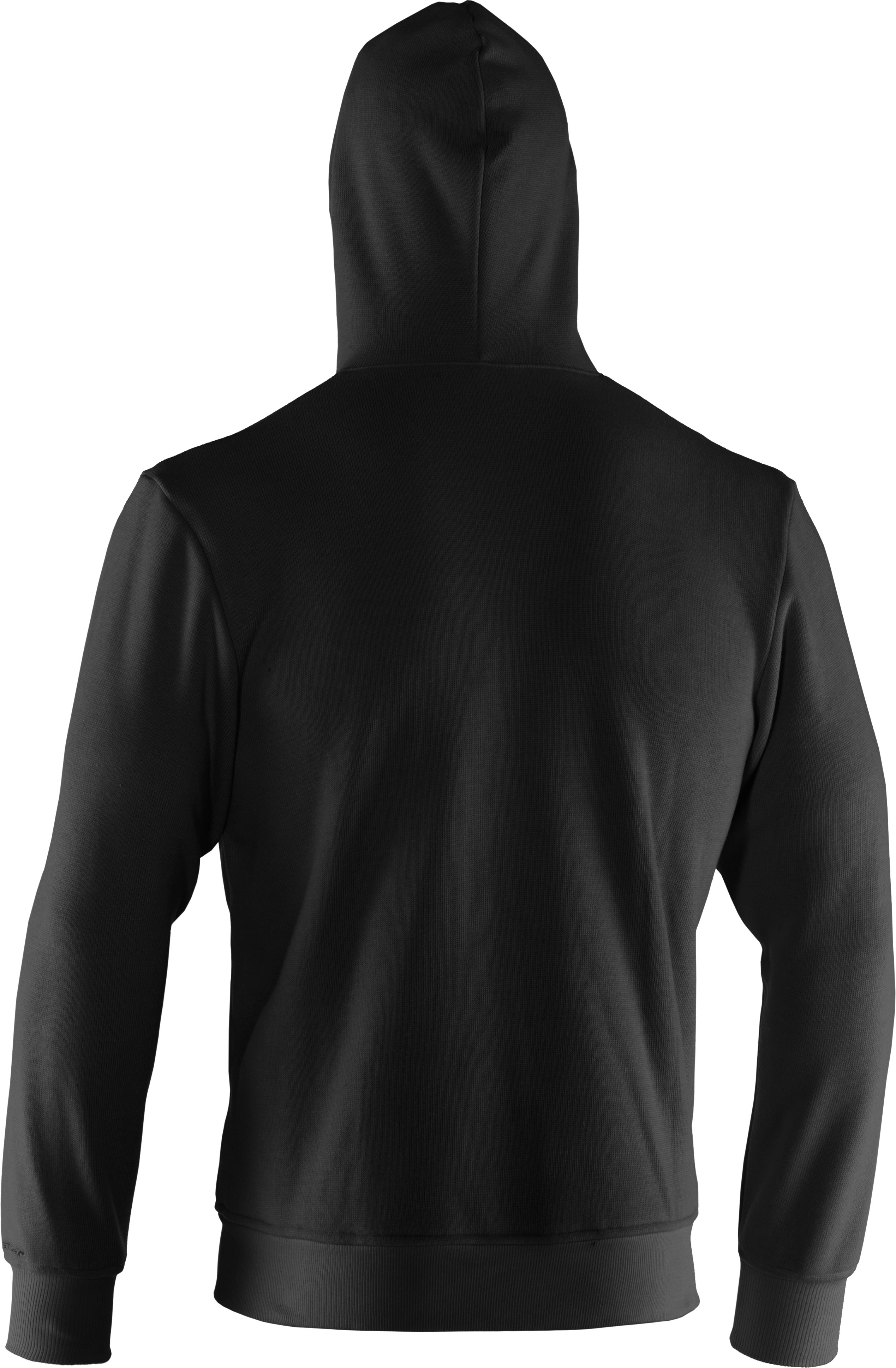 Men's UA Rally Storm Hoodie, Black