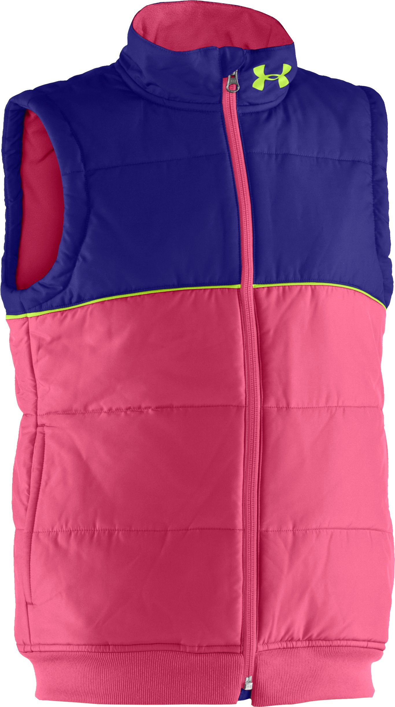 Girls' UA ARMOURCHILL® Vest, Ultra, zoomed image