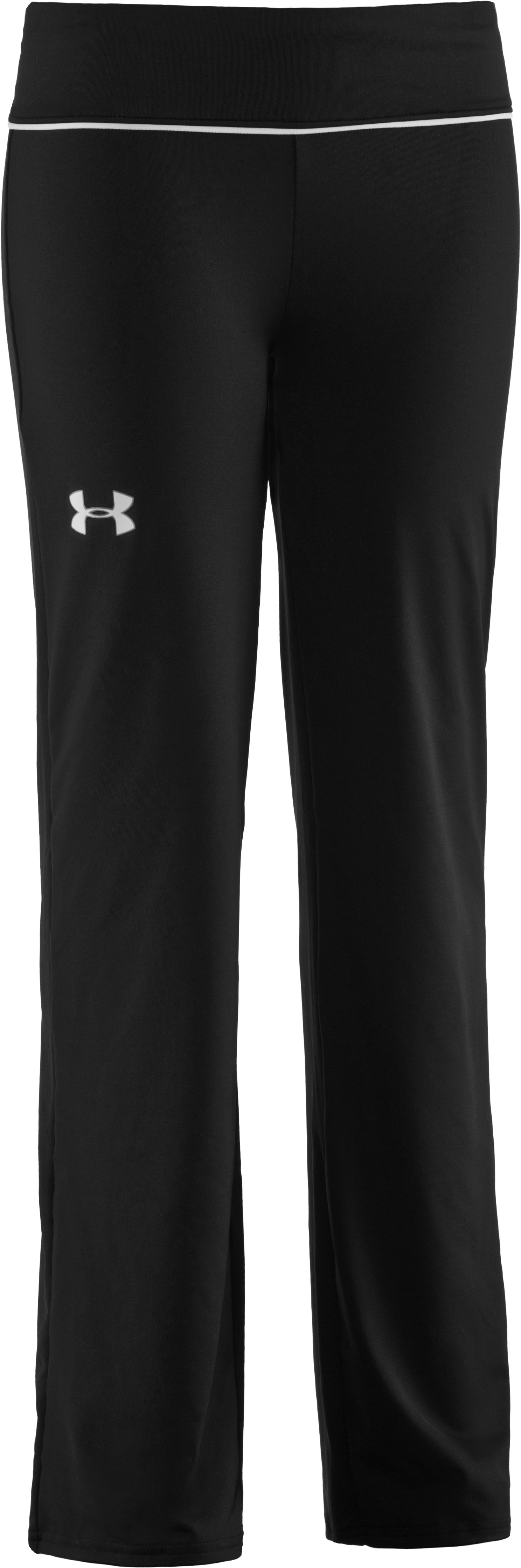 Girls' UA Studio Pants, Black , zoomed image