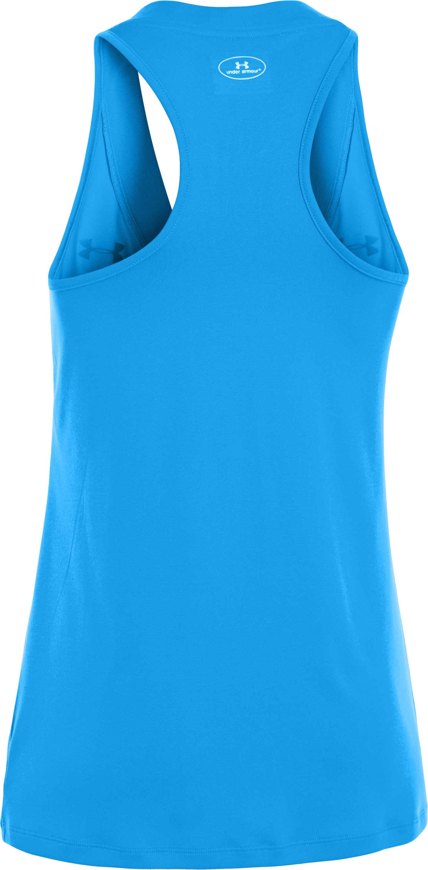 Women's UA Tech™ Sleeveless Tank, ELECTRIC BLUE, undefined