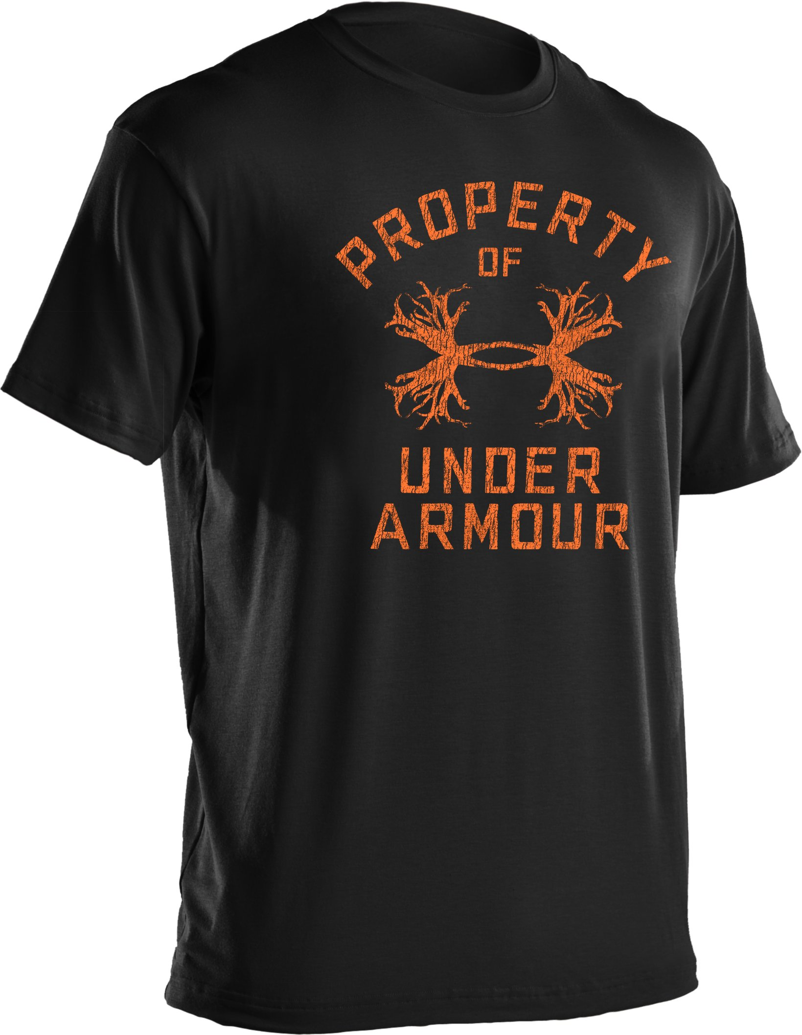 Men's UA Antler Property Graphic T-Shirt, Black