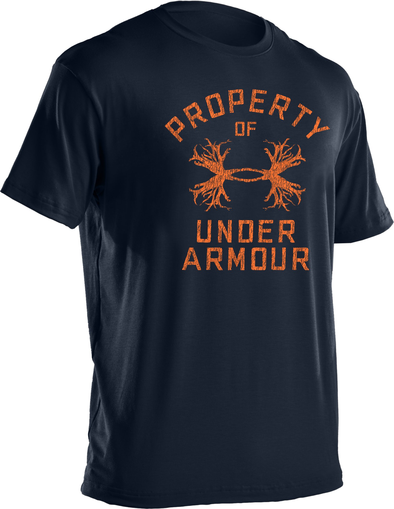Men's UA Antler Property Graphic T-Shirt, Cadet