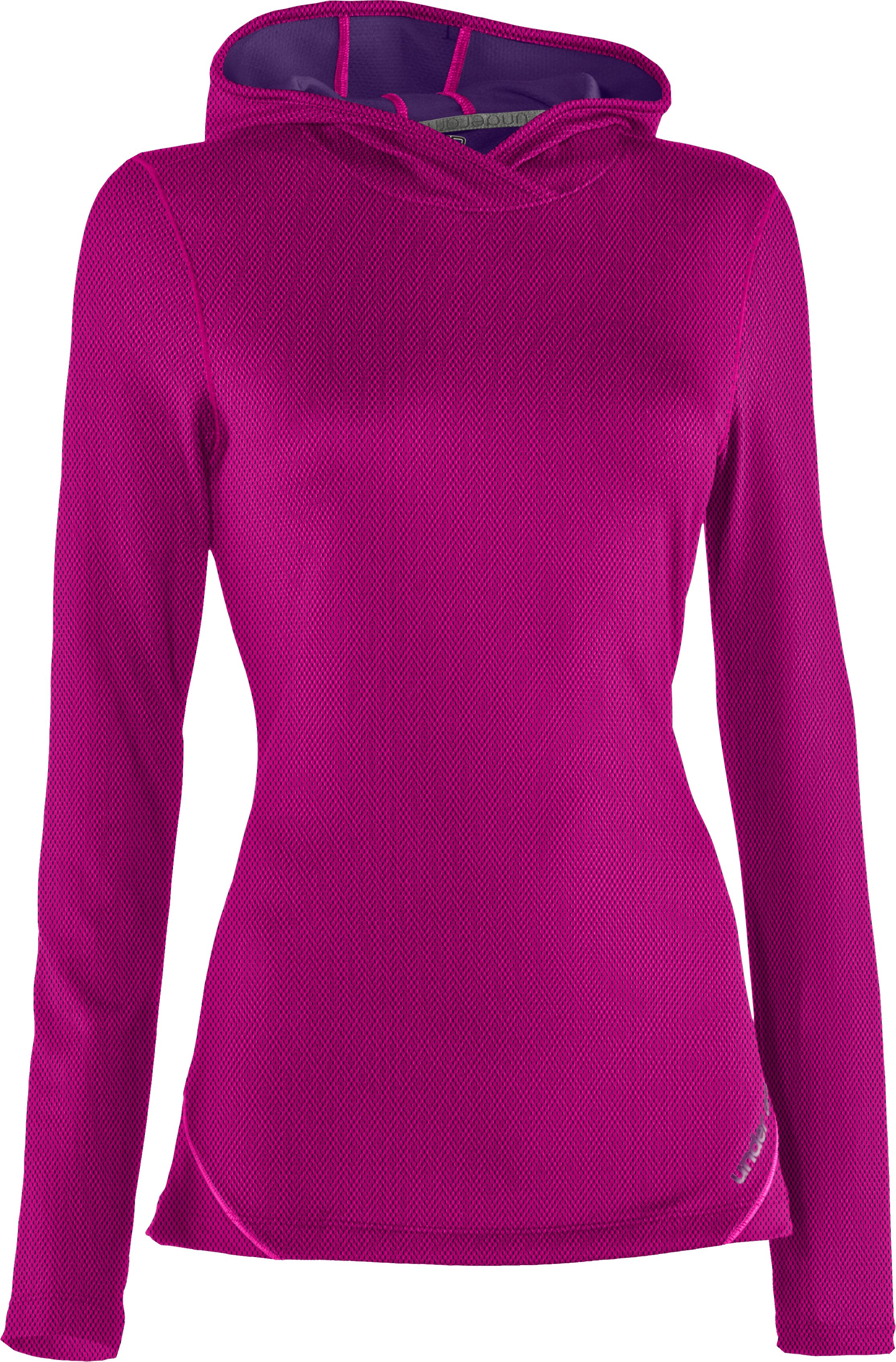 Women's ColdGear® Thermo Hoodie, Tropic Pink